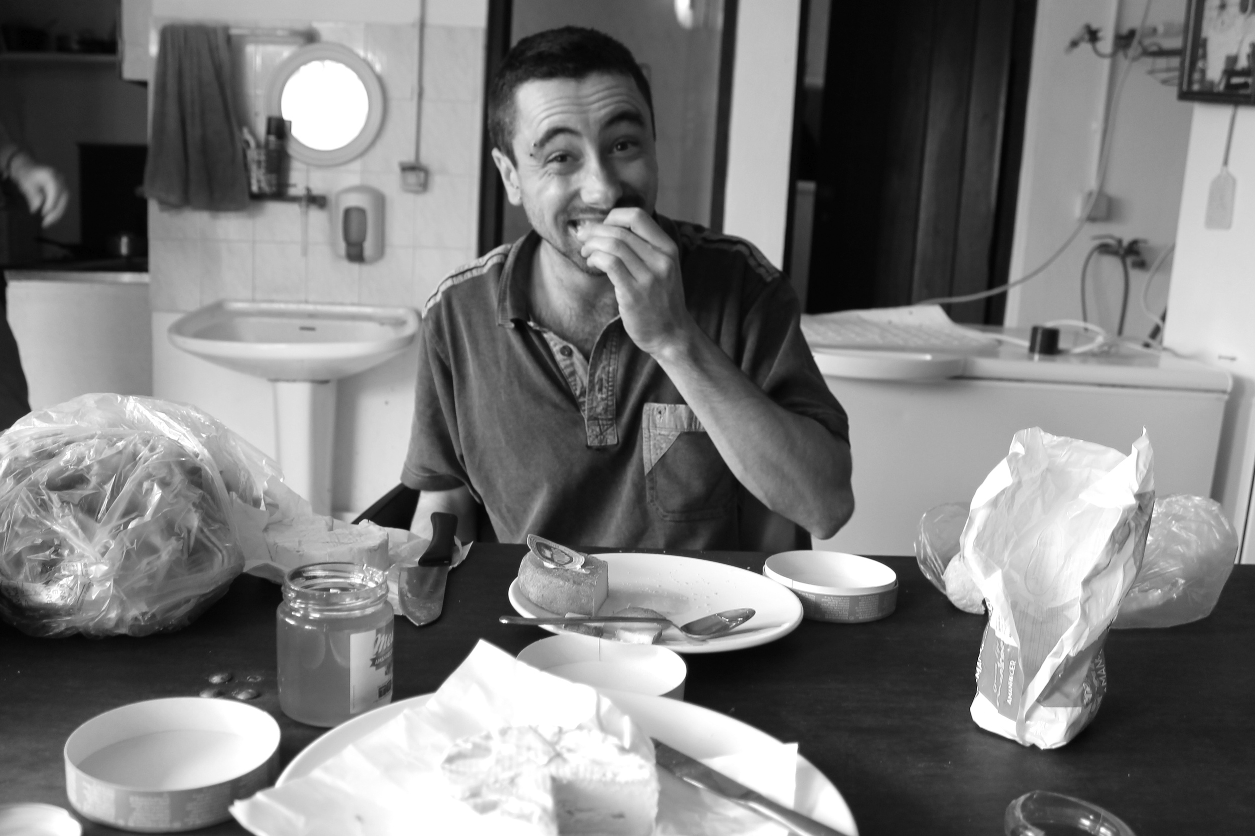 Olivier, the Frenchman who taught me the wonder of camembert and honey for breakfast.