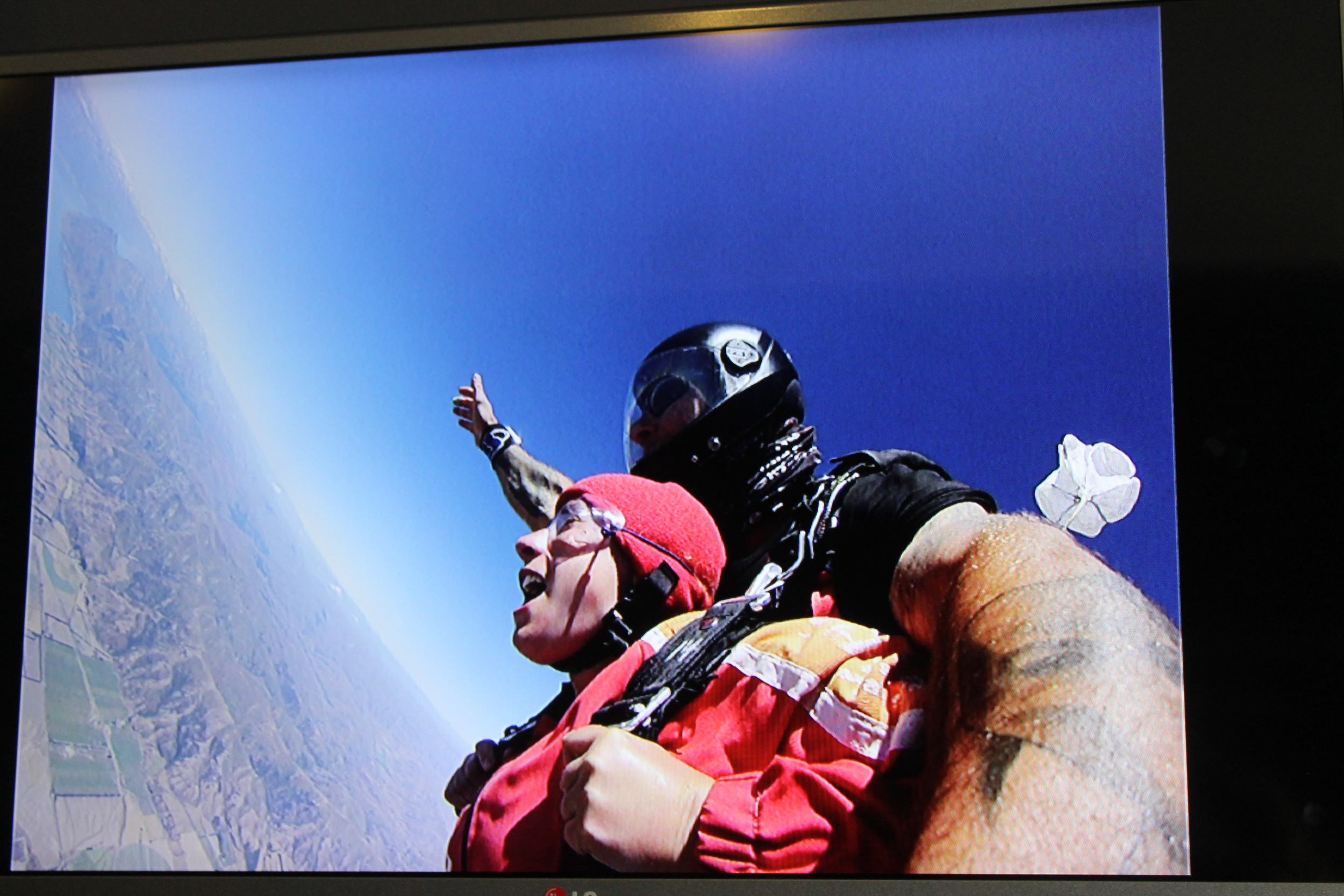 Photos I stole from  Skydive Lake Wanaka.