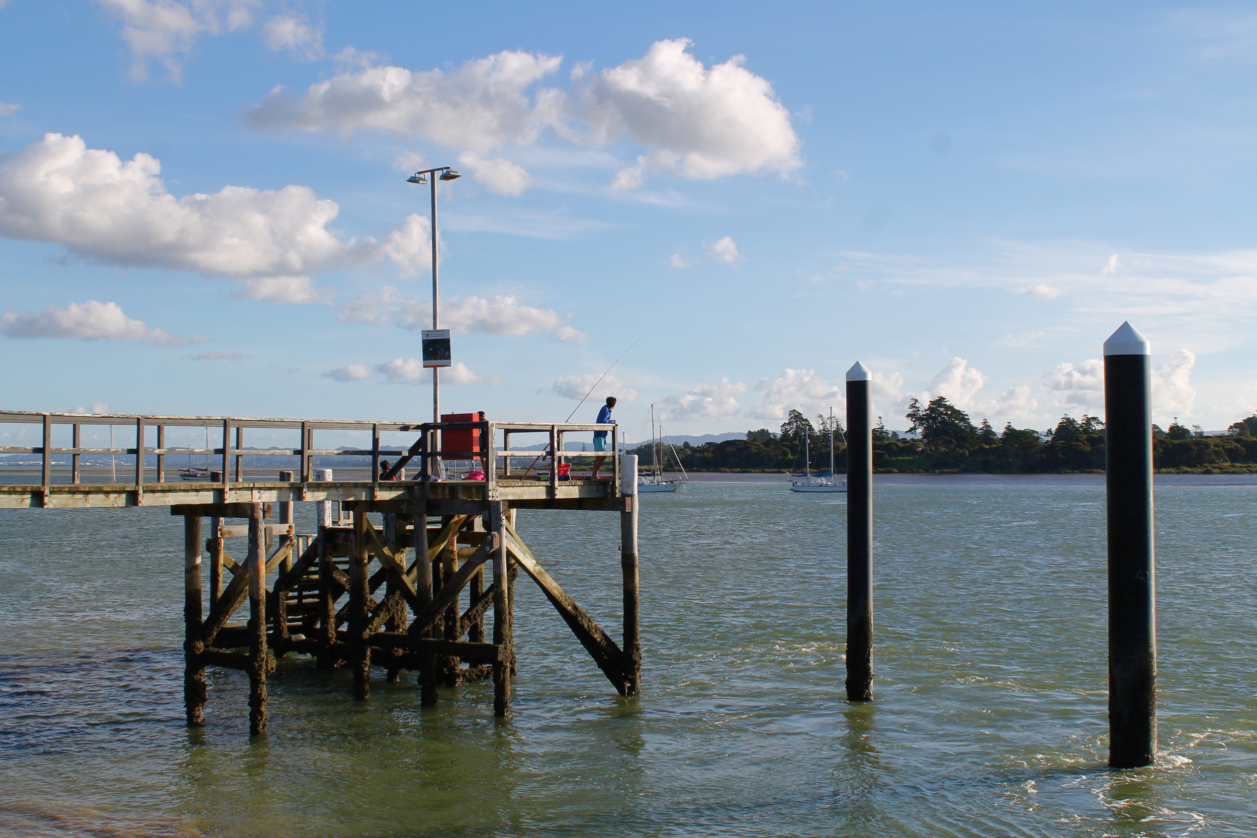 From the Beach Haven ferry dock.