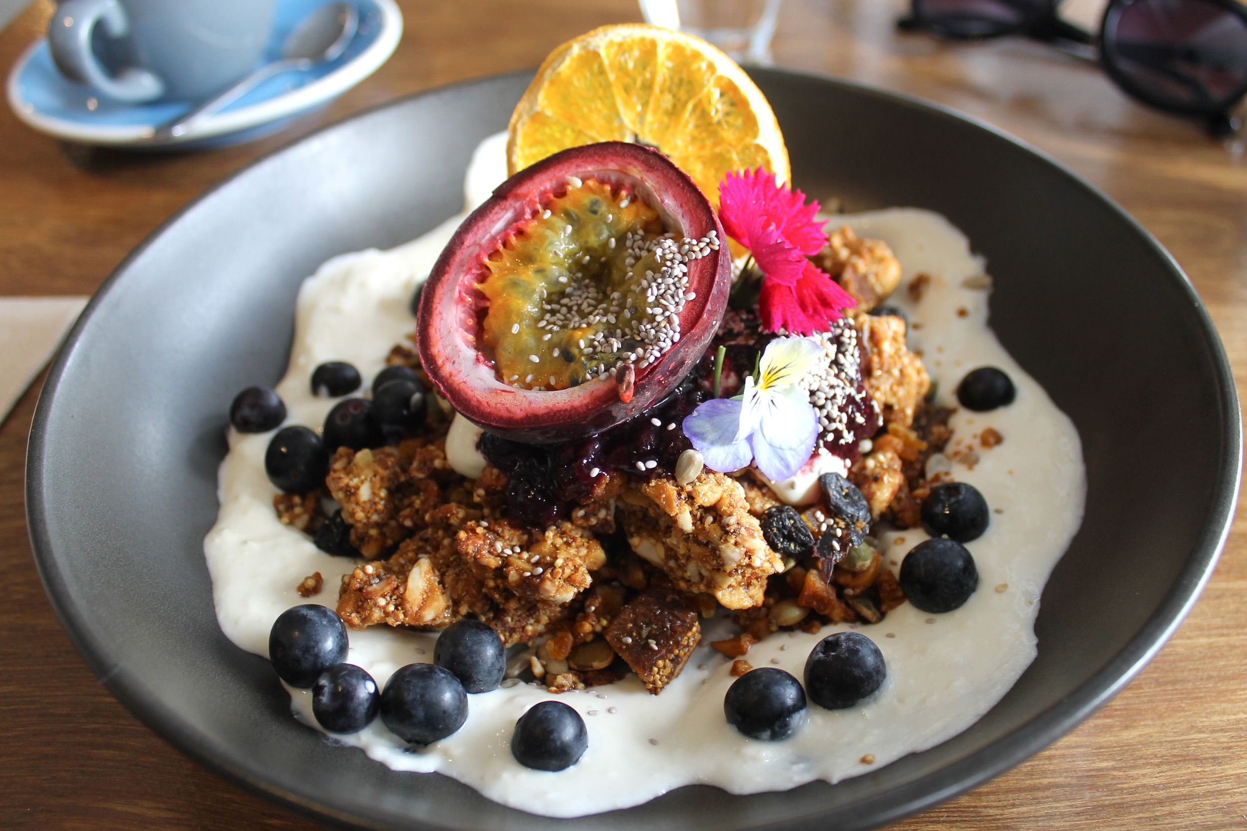 The most beautiful muesli, at  Dear Jervois