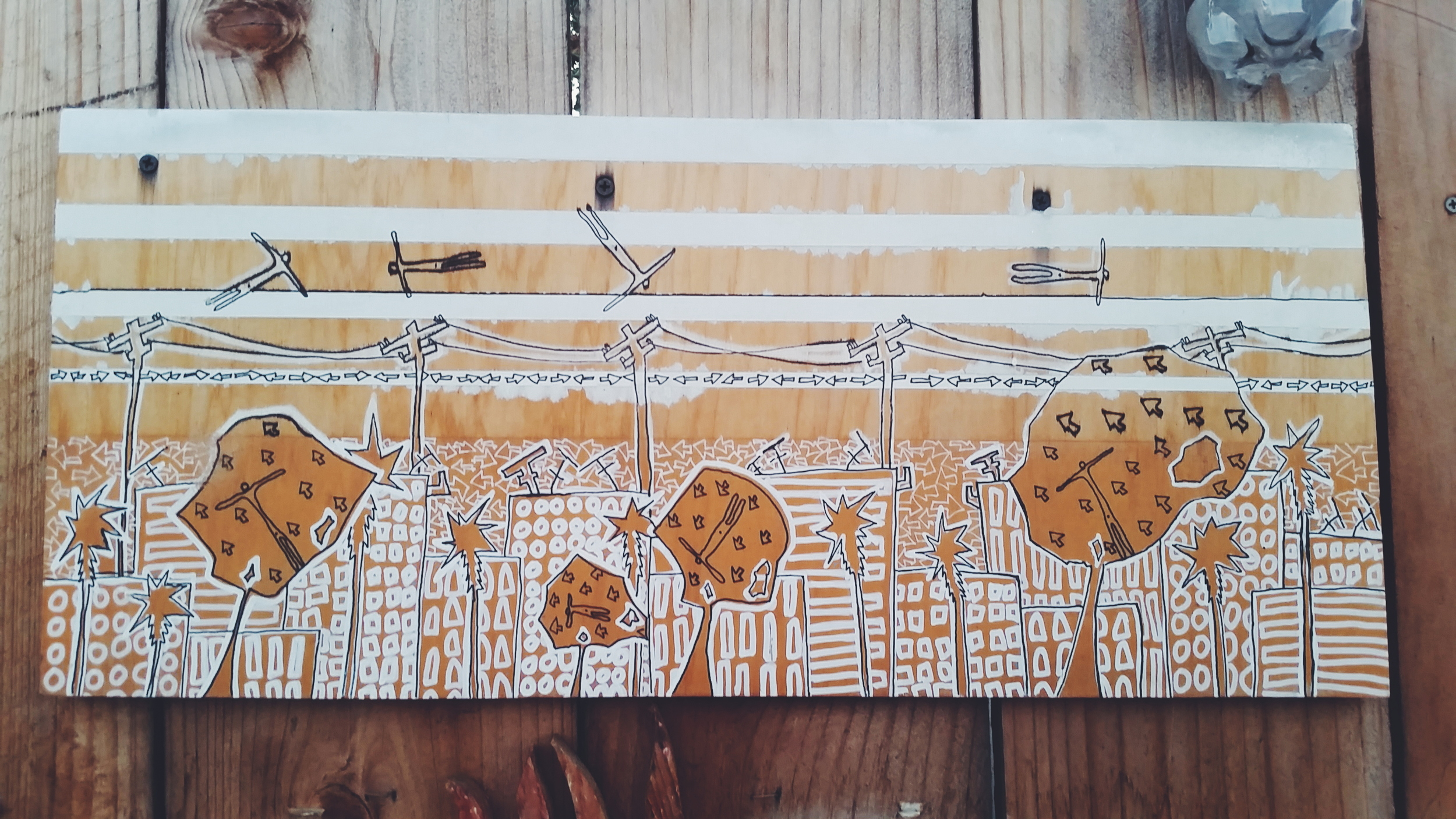 Santa Barbara street art.