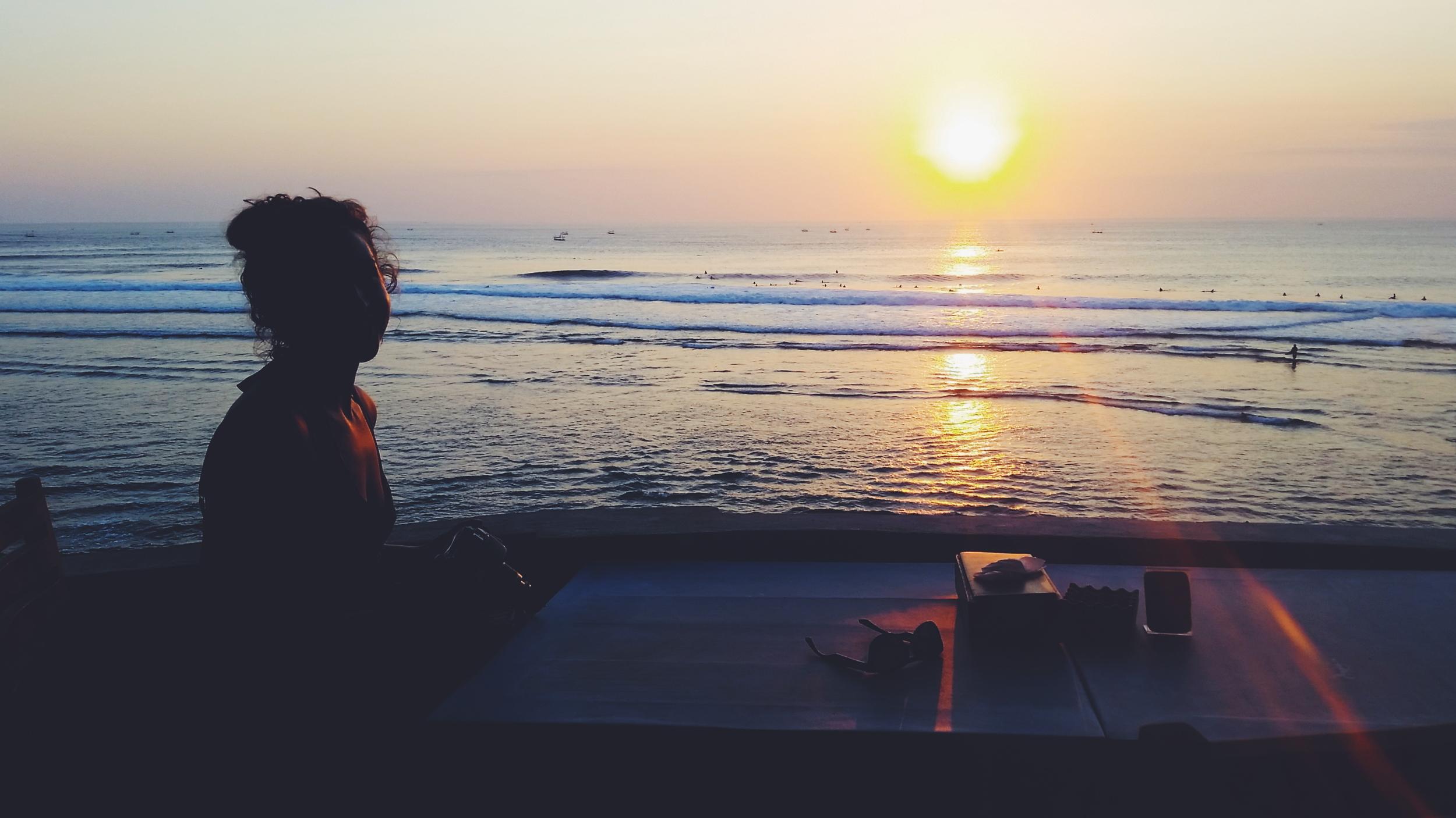 Suluban sunset