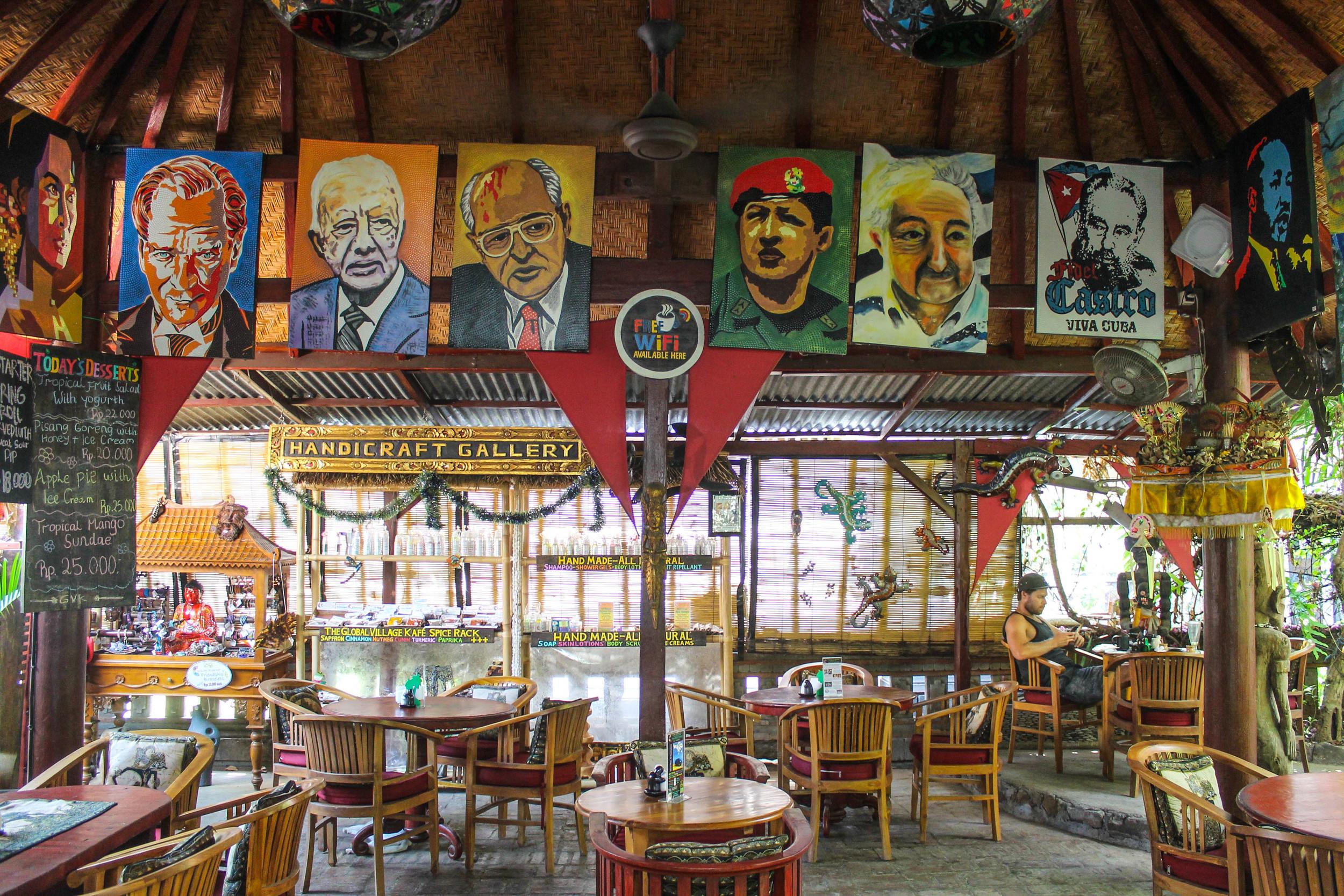 Global Citizen's Kafe in Lovina.