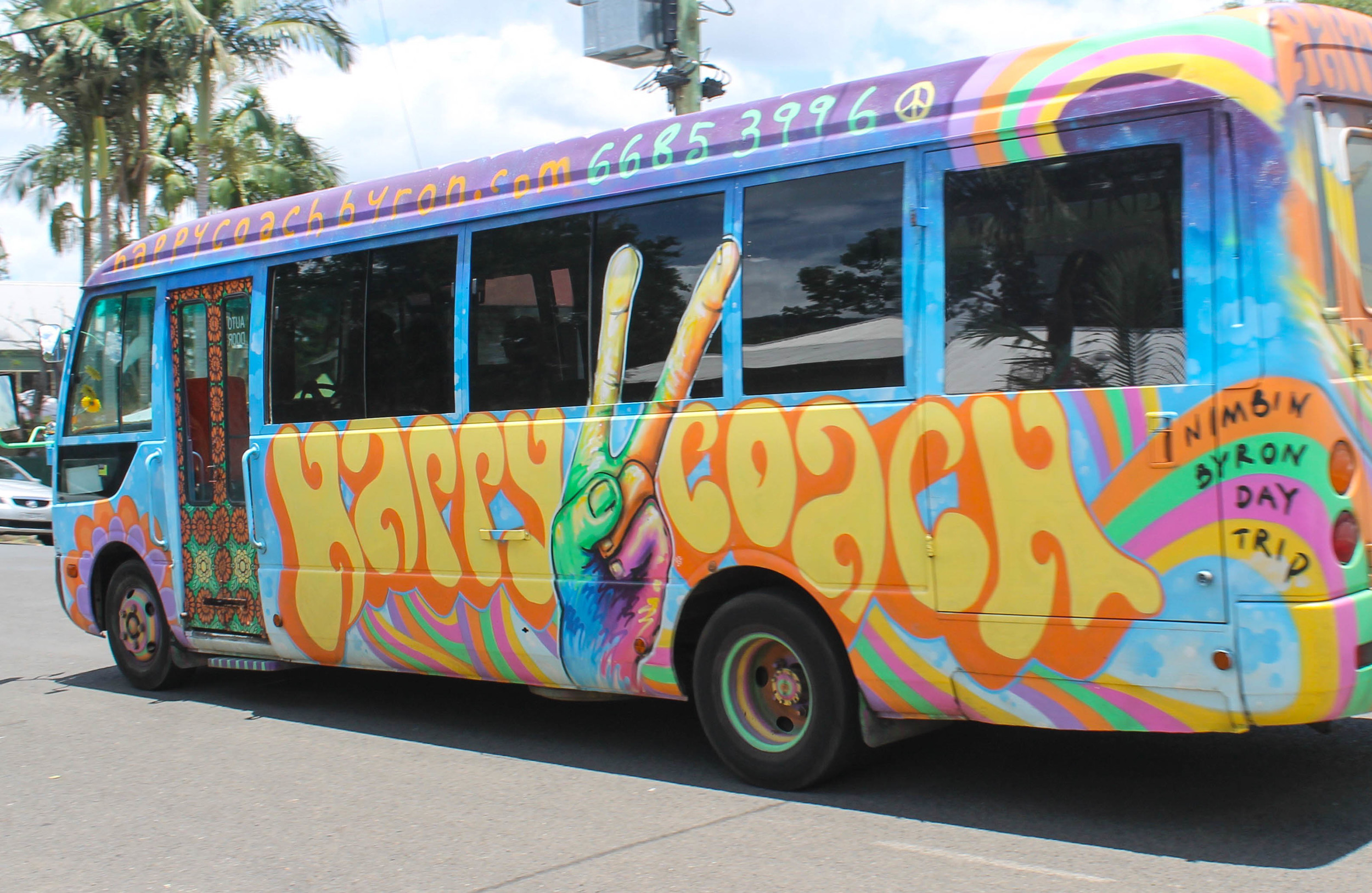 We also had a pit stop in Nimbin, an ultra-hippie little village.