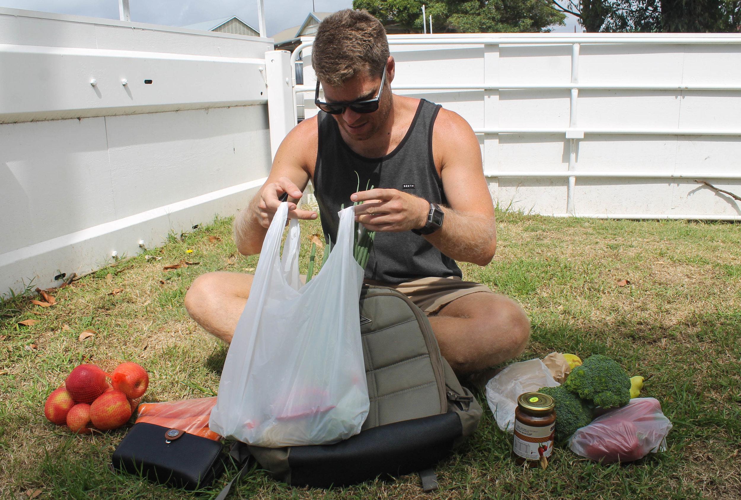 Farmers market bounty.