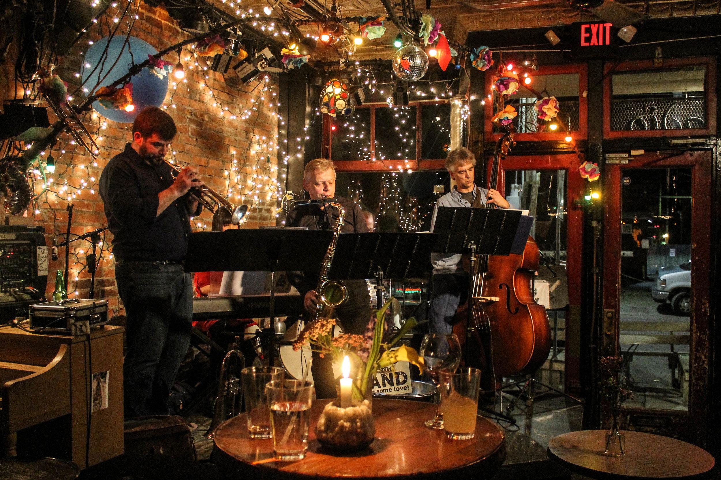 Mojitos and post-show Jazz at  Radio Bean