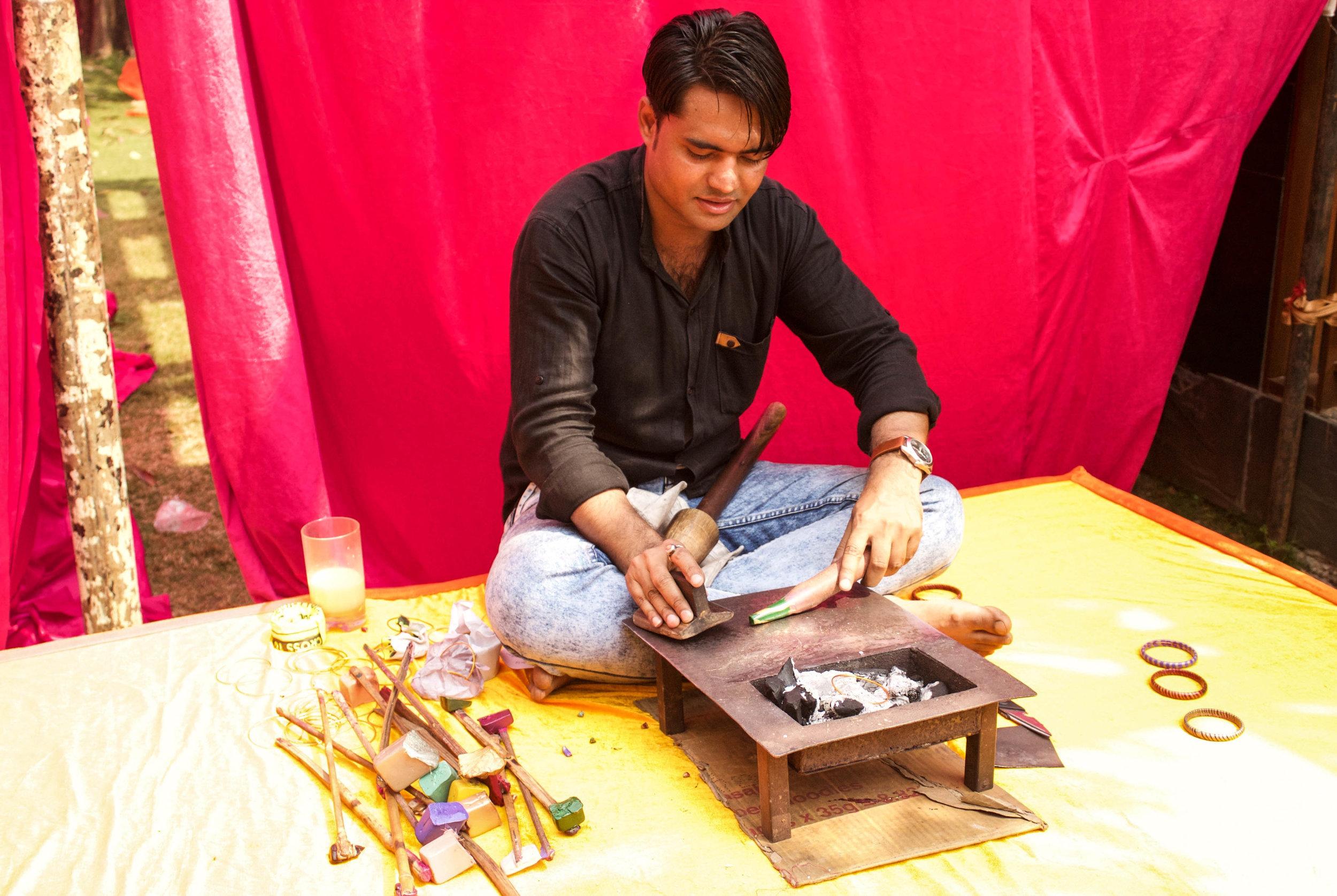 Bangle maker.