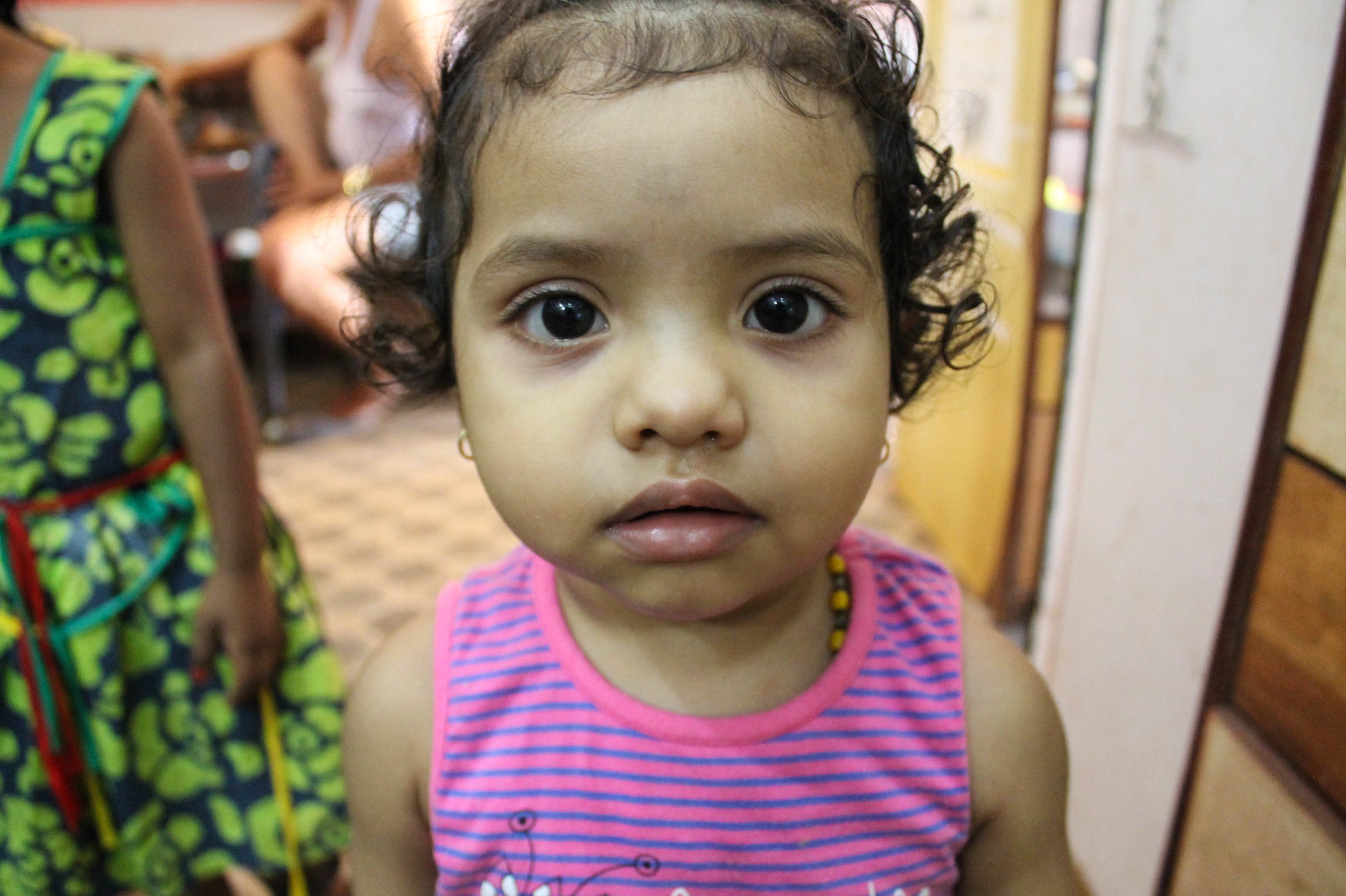We stopped in to a store to buy sunscreen and met this little gal who was very intrigued by my camera…