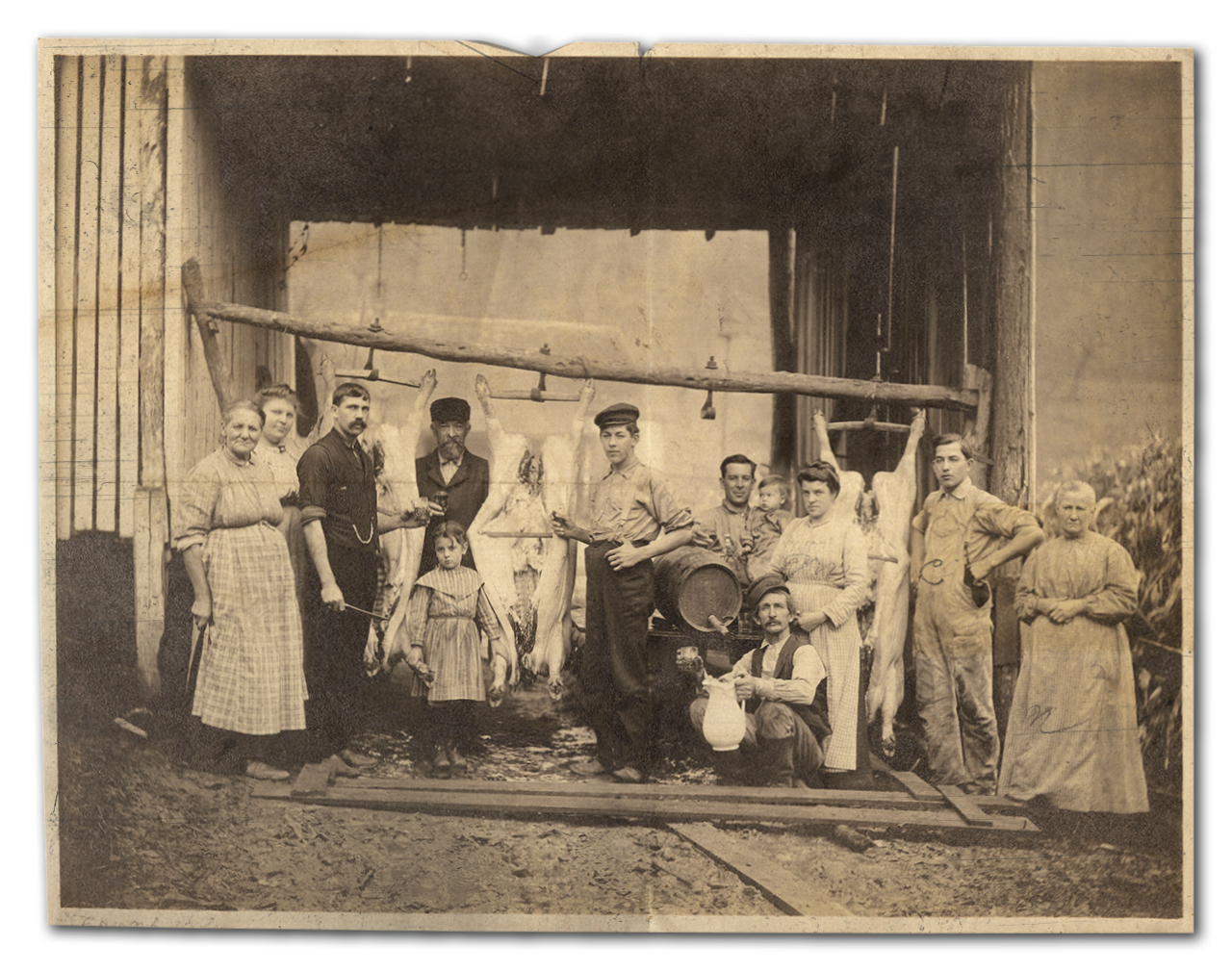 Farming & Distilling - a family tradition since (at least) 1897.