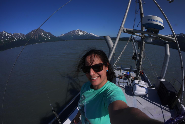 Instrument testing in Resurrection Bay near Seward, Alaska.