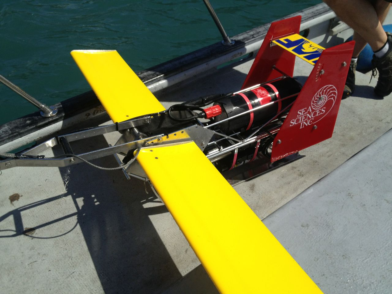 Sea Science's Acrobat Towed Instrument Platform.