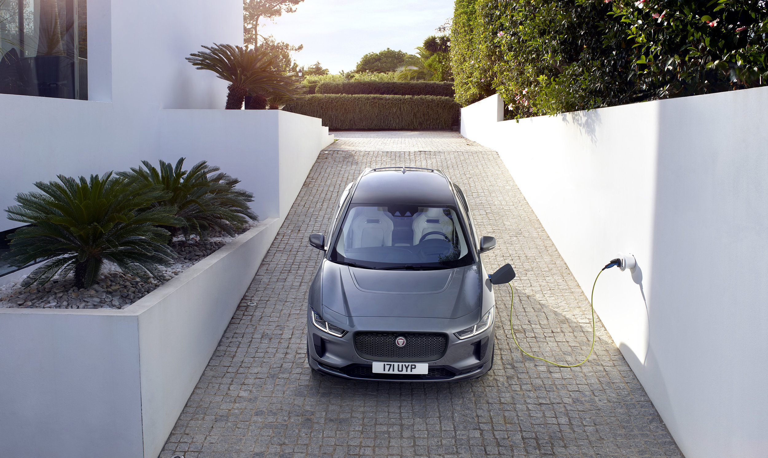 *Overseas model shown - Australian charging station and vehicle may be different