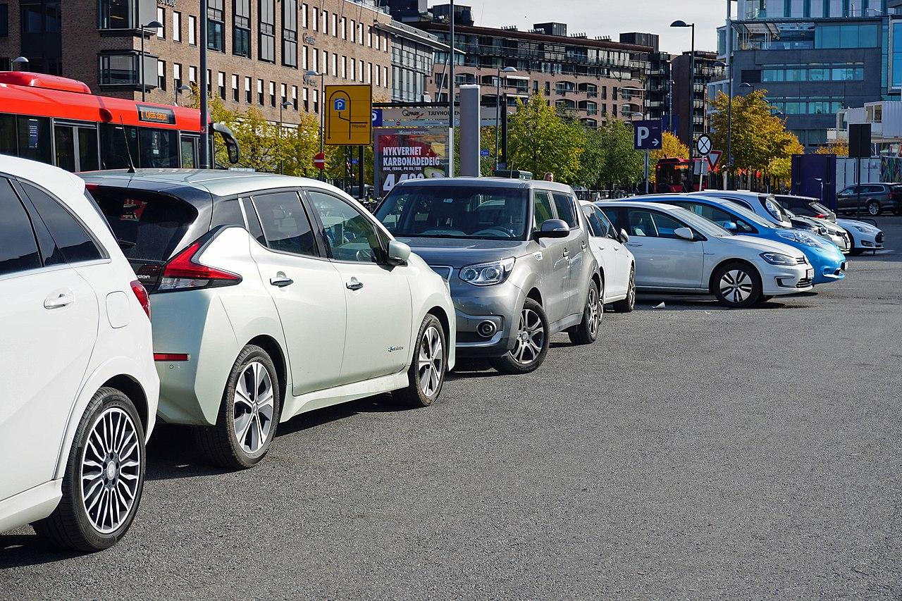 EV parking Oslo