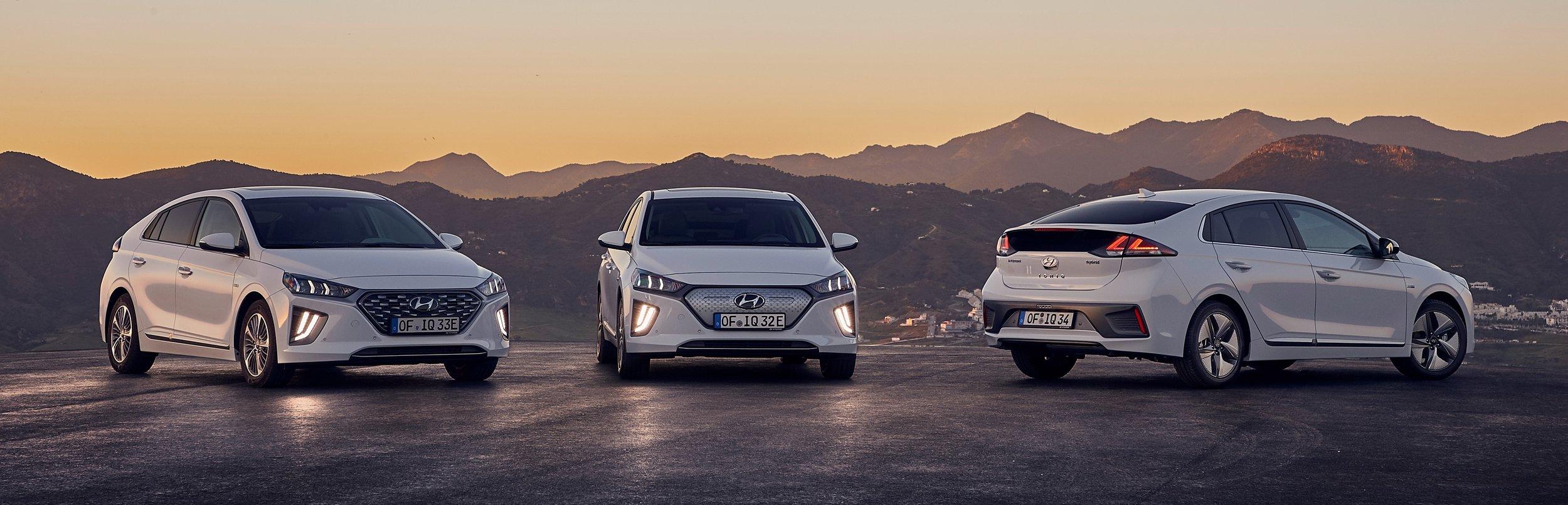 Hyundai Ioniq range 2020