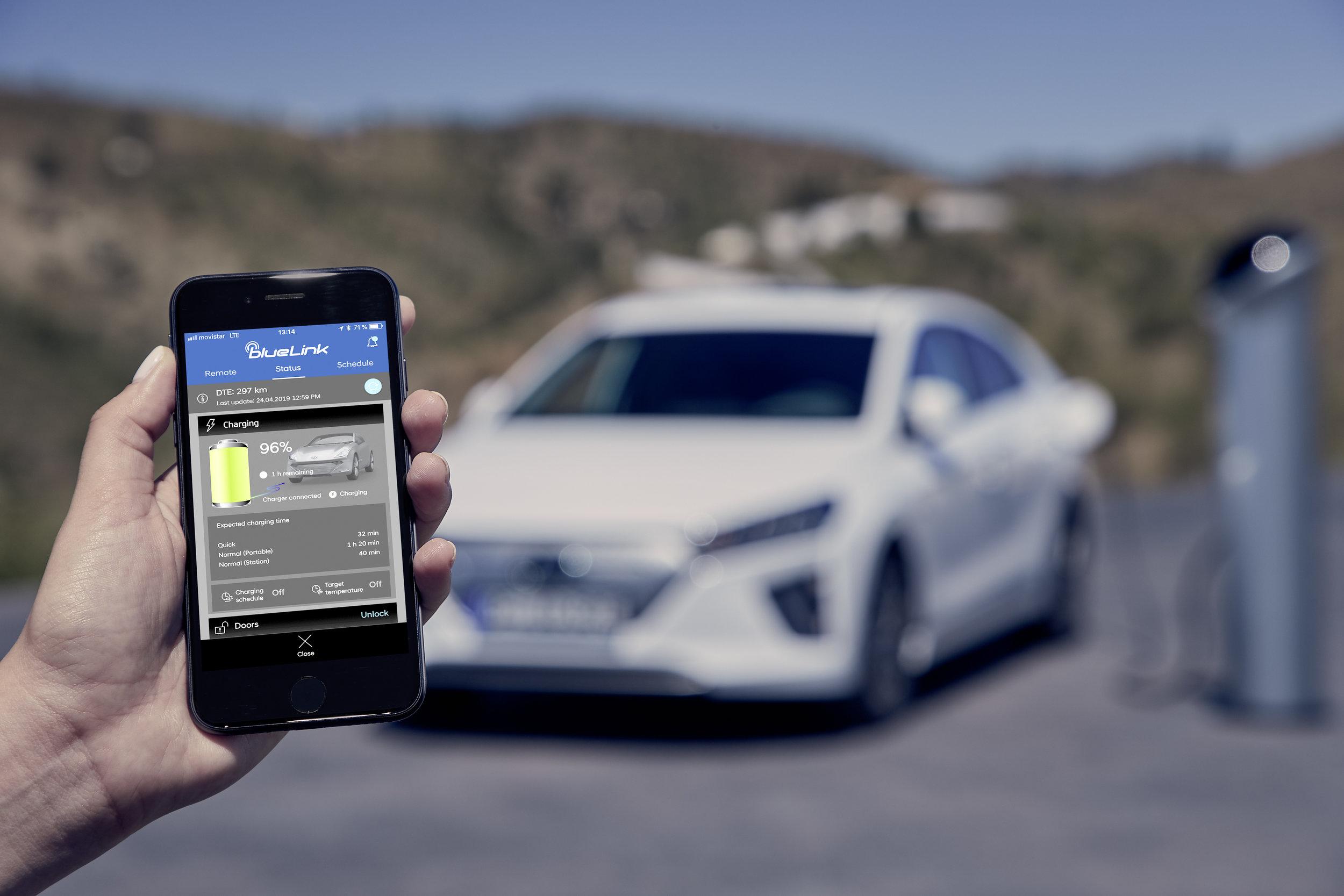 Hyundai Blue Link app