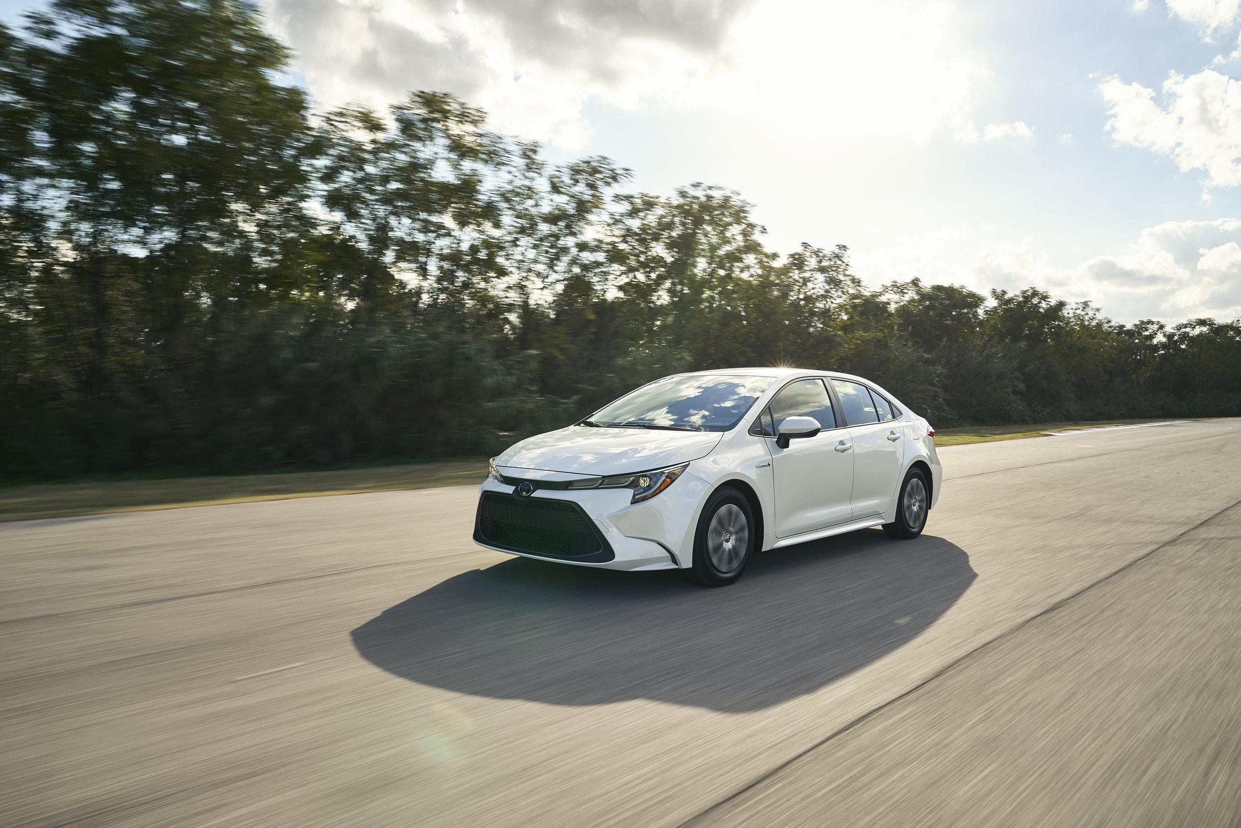 The 2020 Toyota Corolla hybrid