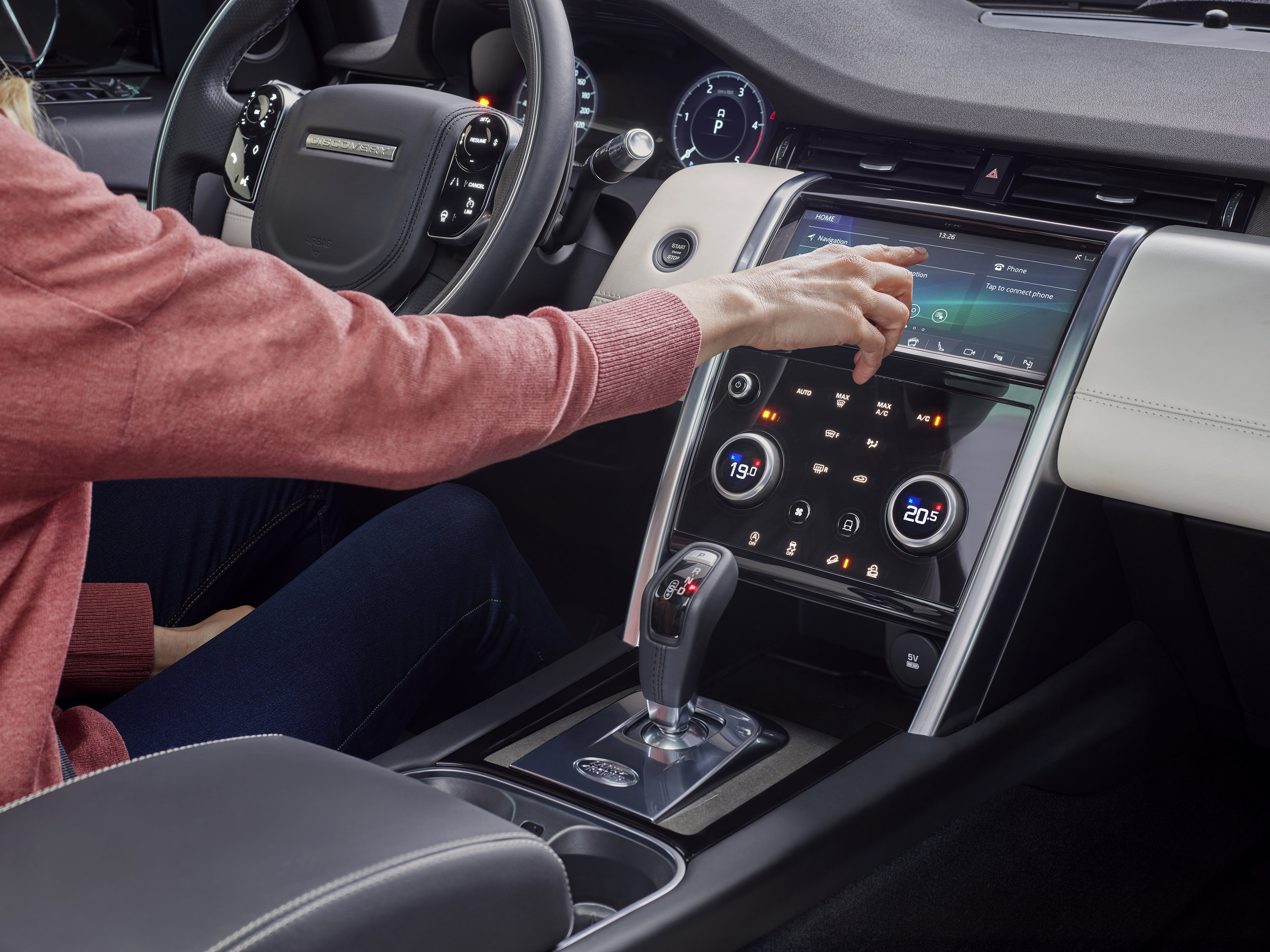 Discovery Sport infotainment system