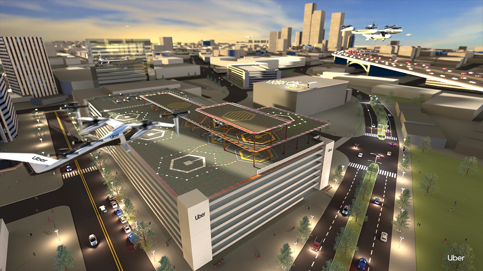 Uber Air skyport