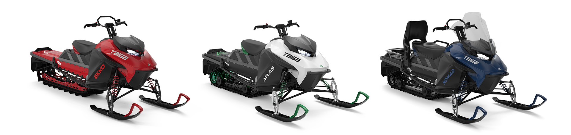 Taiga snowmobile models