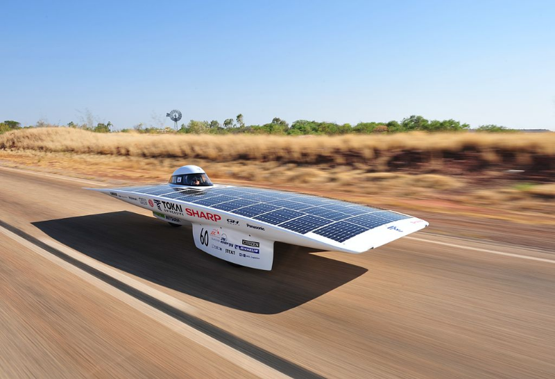 The Tokai Challenger won the 2009 World Solar Challenge