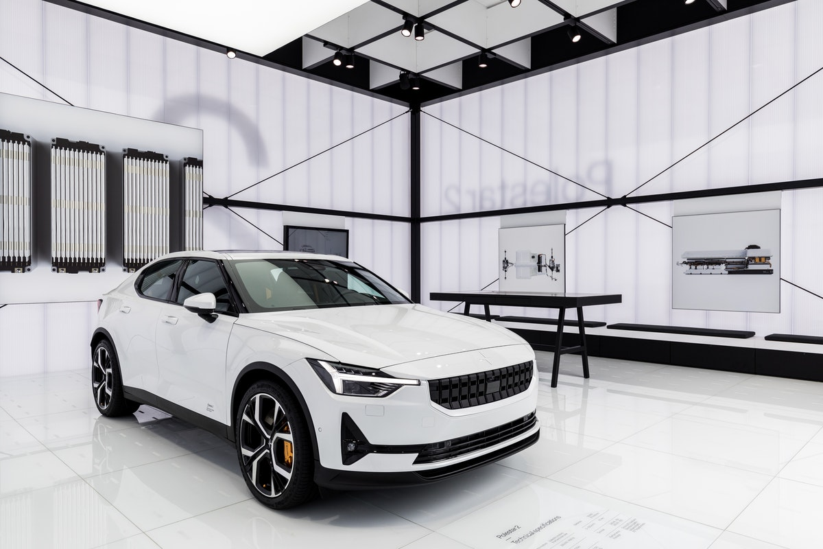 Volvo are also behind the upcoming  all-electric Polestar 2