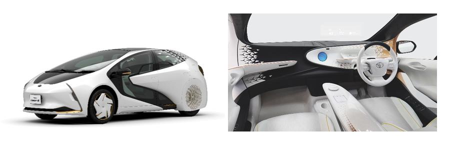 The Concept-i exterior and interior