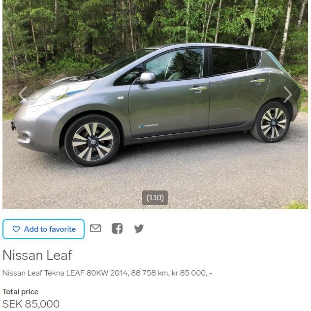 Nissan+Leaf+listing