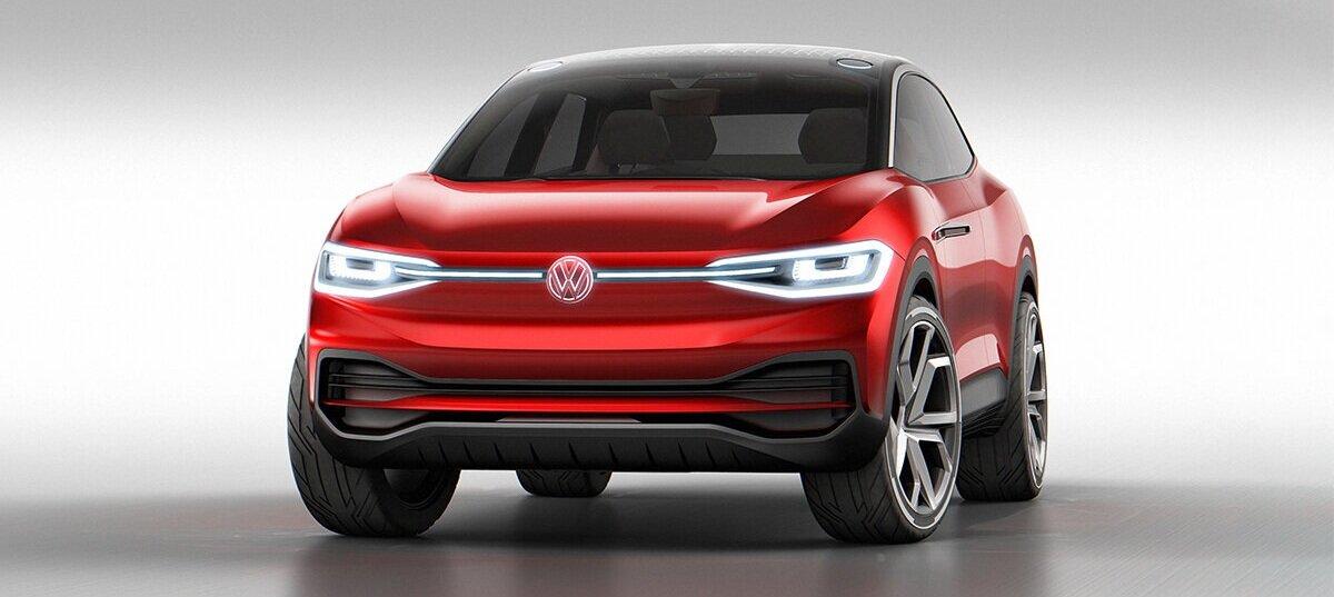 Volkswagen+ID4+CROZZ+Concept