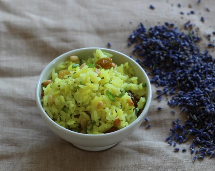 Lavender Jasmine Rice