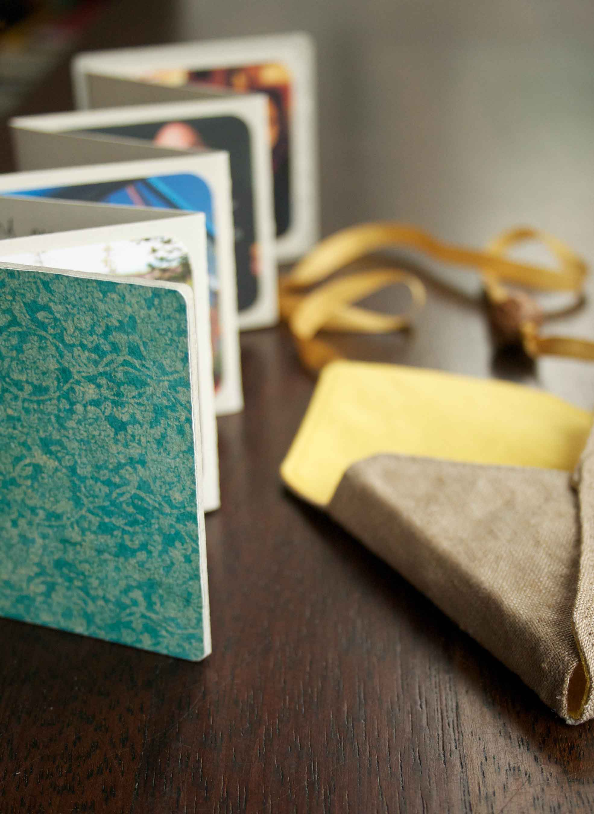 Mothers Day handmade accordion photo book project from Thread & Whisk