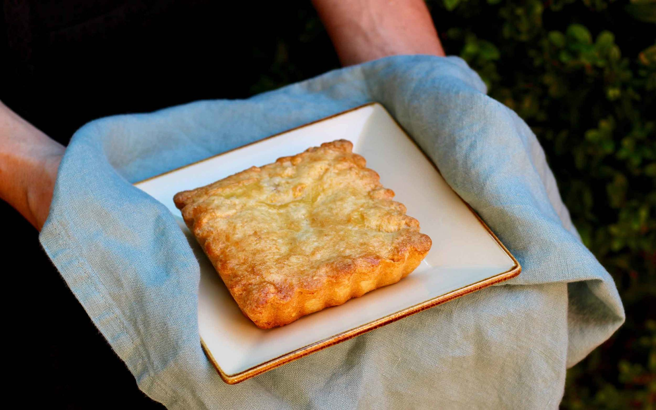 gâteau basque recipe from Thread & Whisk