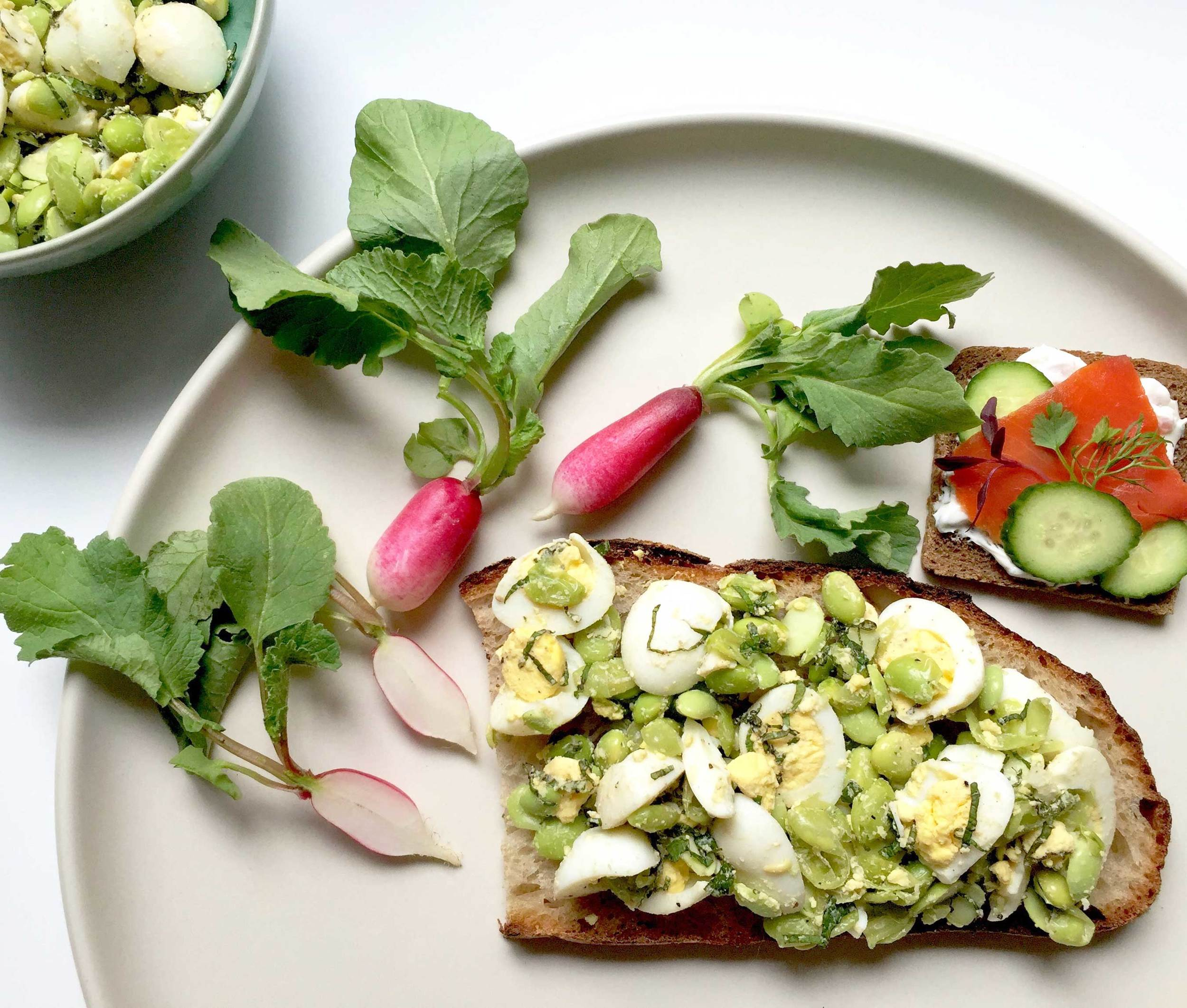 Tartines, freshen up your sandwiches, recipe by Thread & Whisk