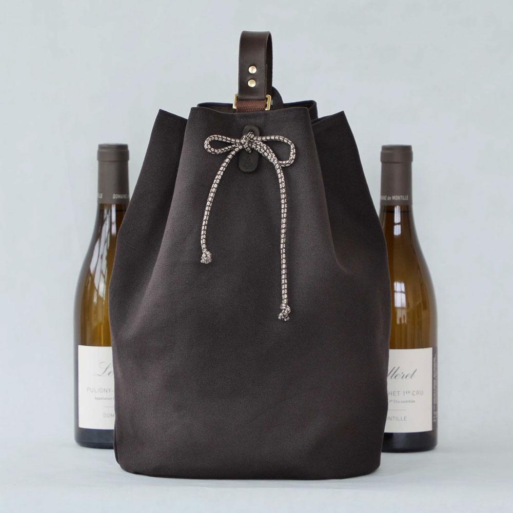Larkspur 2-Bottle Wine Carrier $145