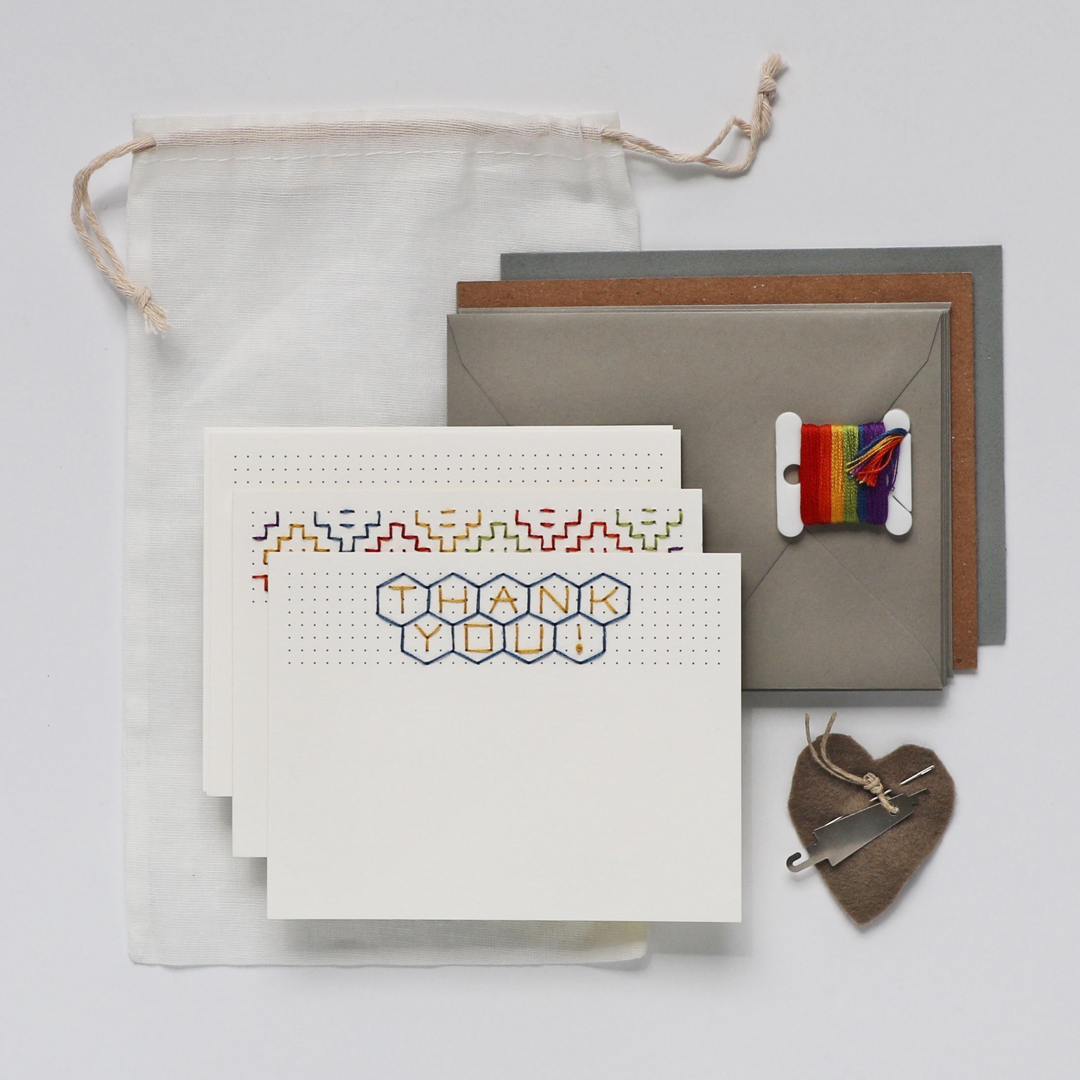 Stitcher's Choice Embroidered Greeting Card Kit $18
