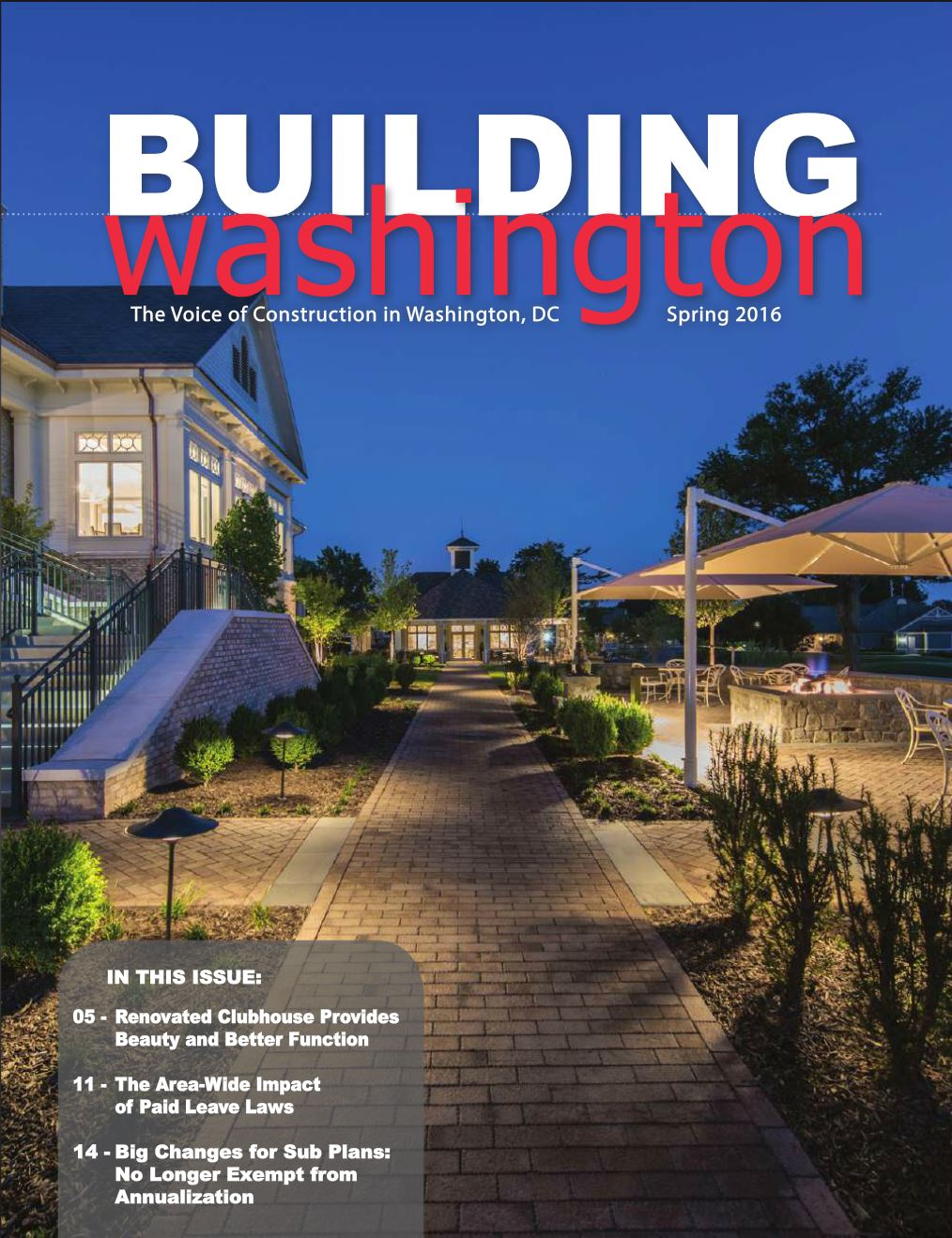 Feature Article in ABC Metro Spring Magazine