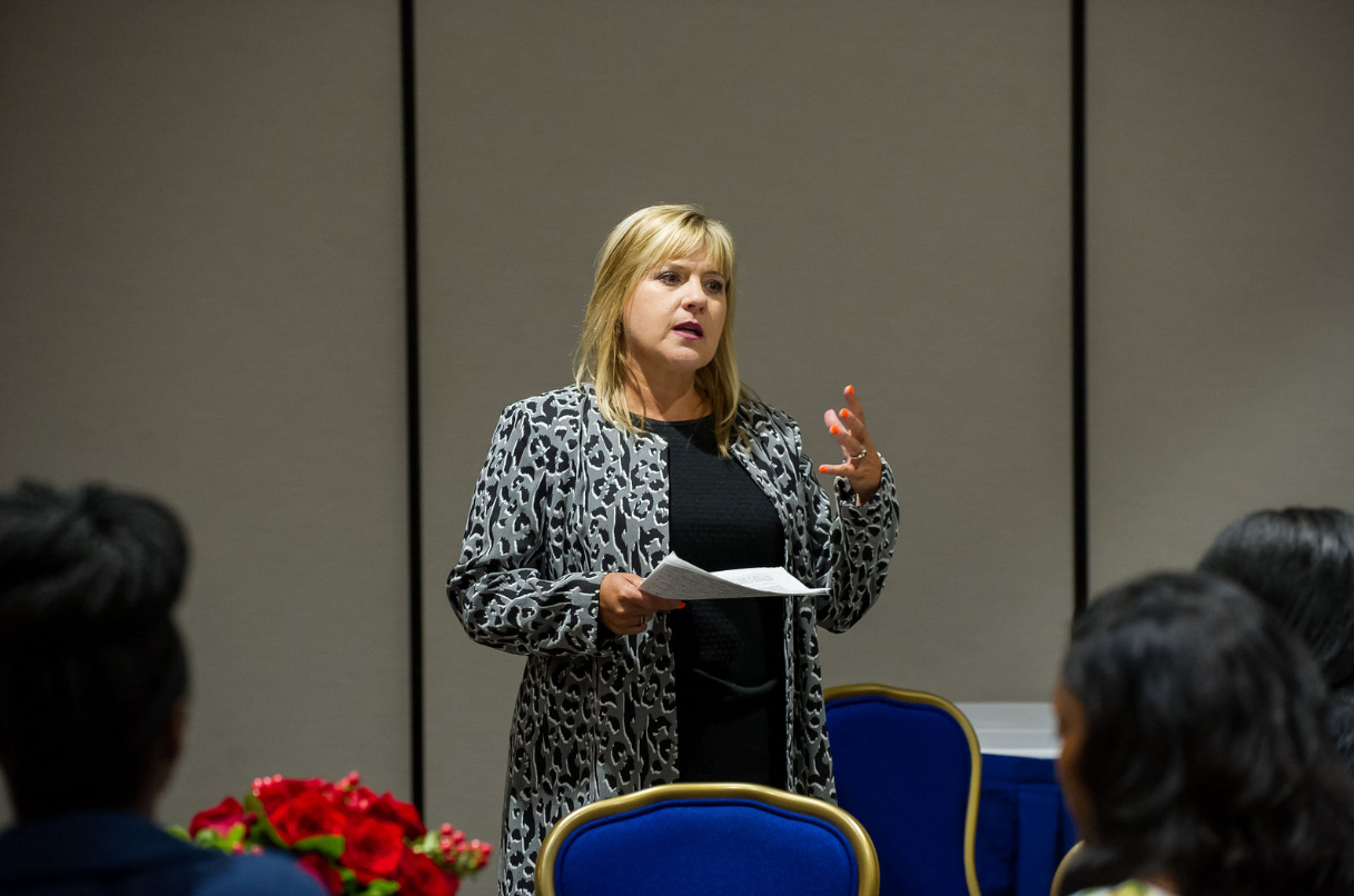 Barbara Price shares the 3 C's to know.  (Photo Credit Kea Dupree)