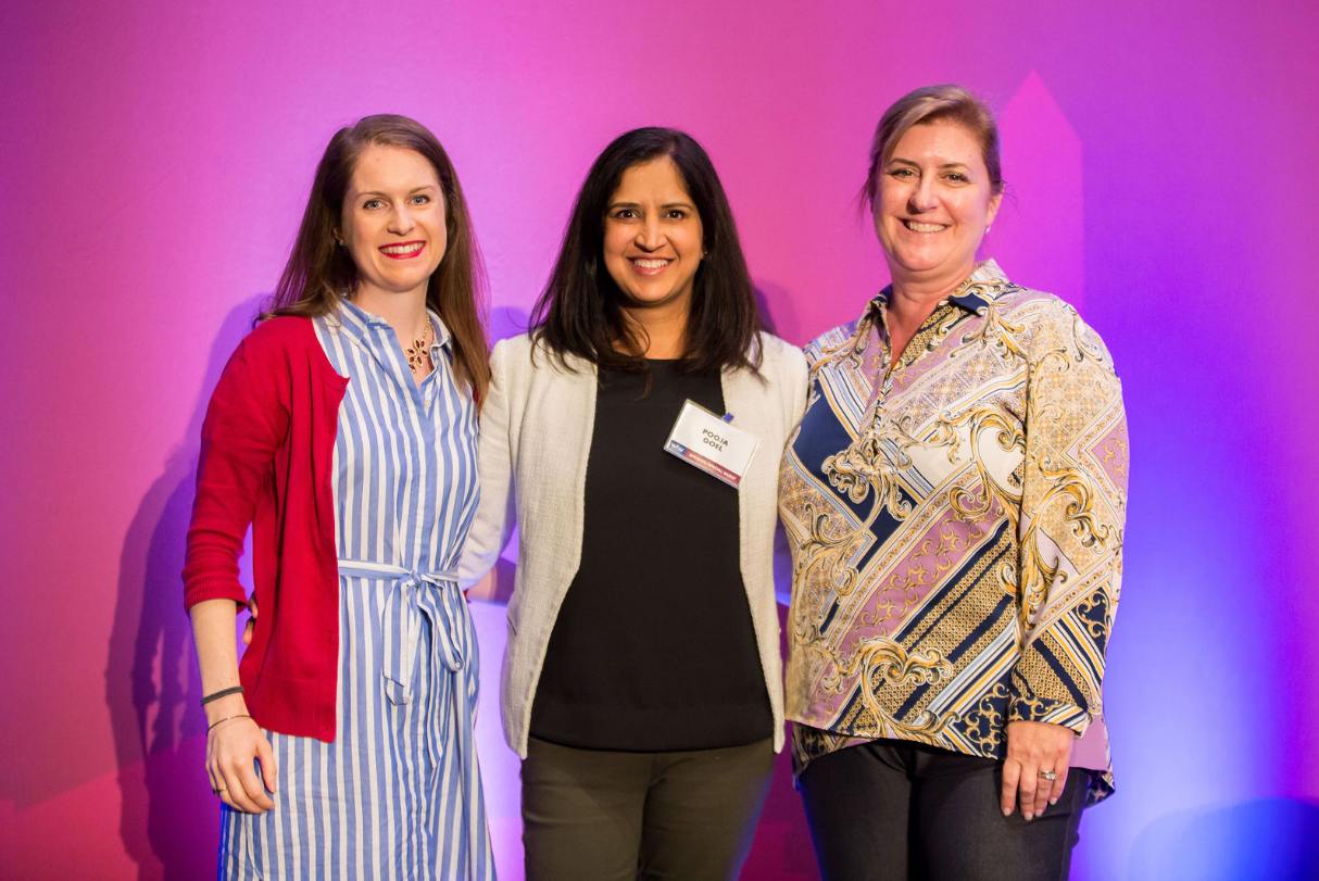 Maura Danehy, Hilton, Pooja Goel, JE Dunn Construction, Sharyle Gaston, AvalonBay Communities (Photo Credit: Kea Dupree)