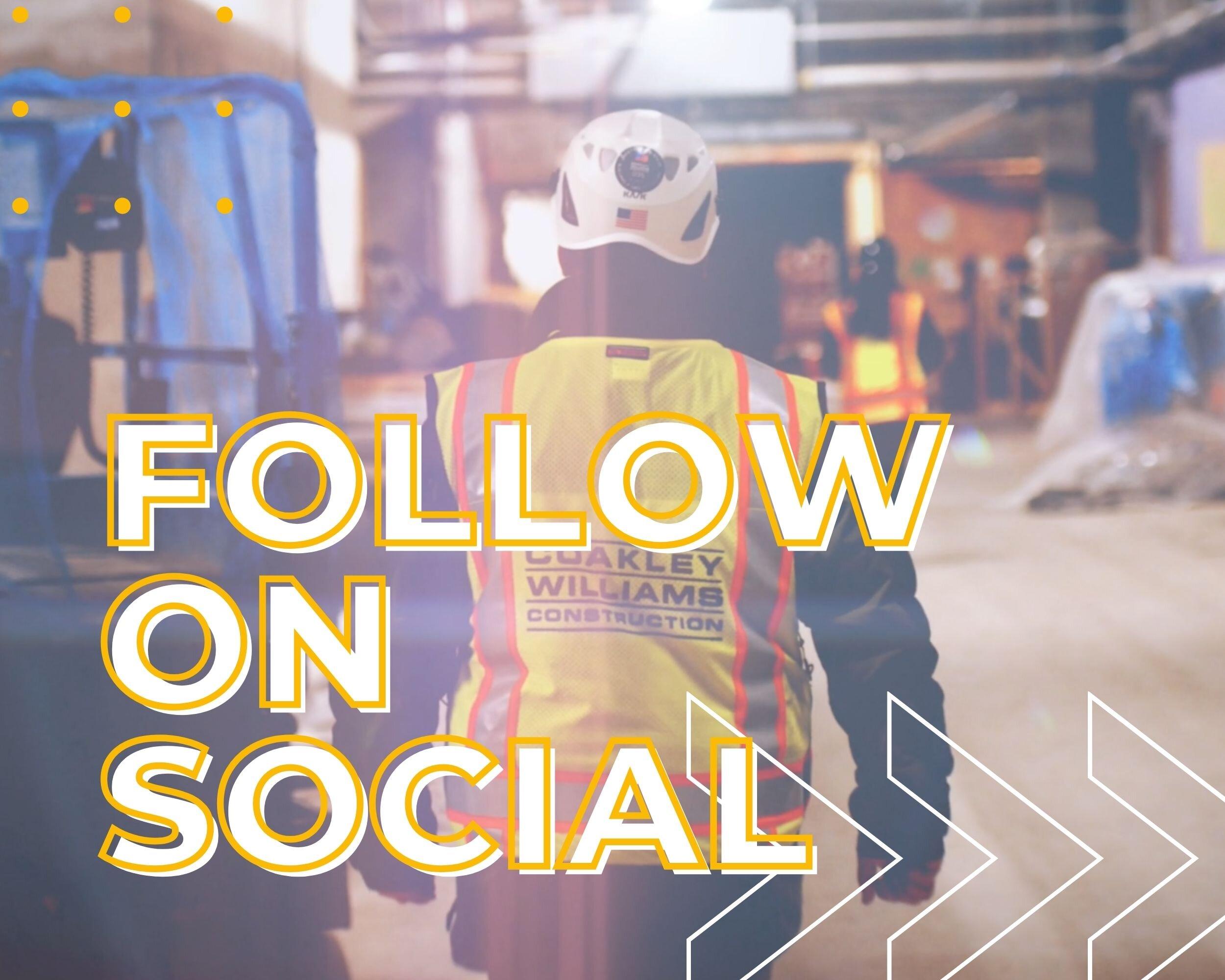 Follow on Social Media