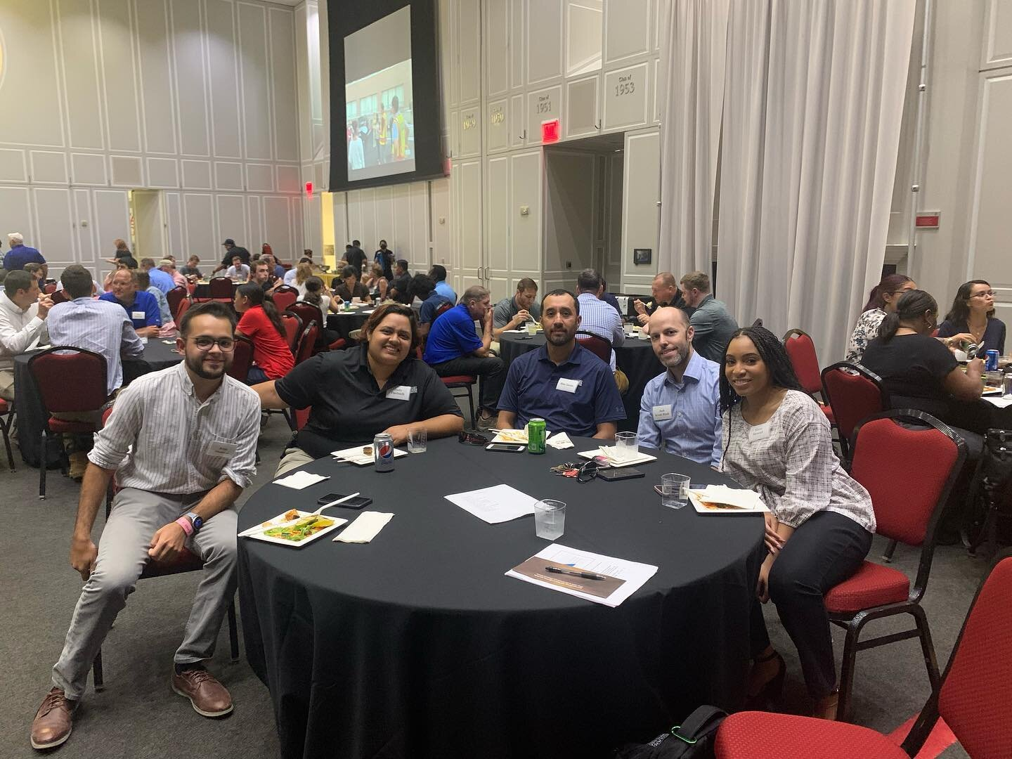 After 18 months since our last in person all company meeting, we are happy to step out from behind our screens and see everyone together again! #BuildingPeople #Buildingfor60 #Construction