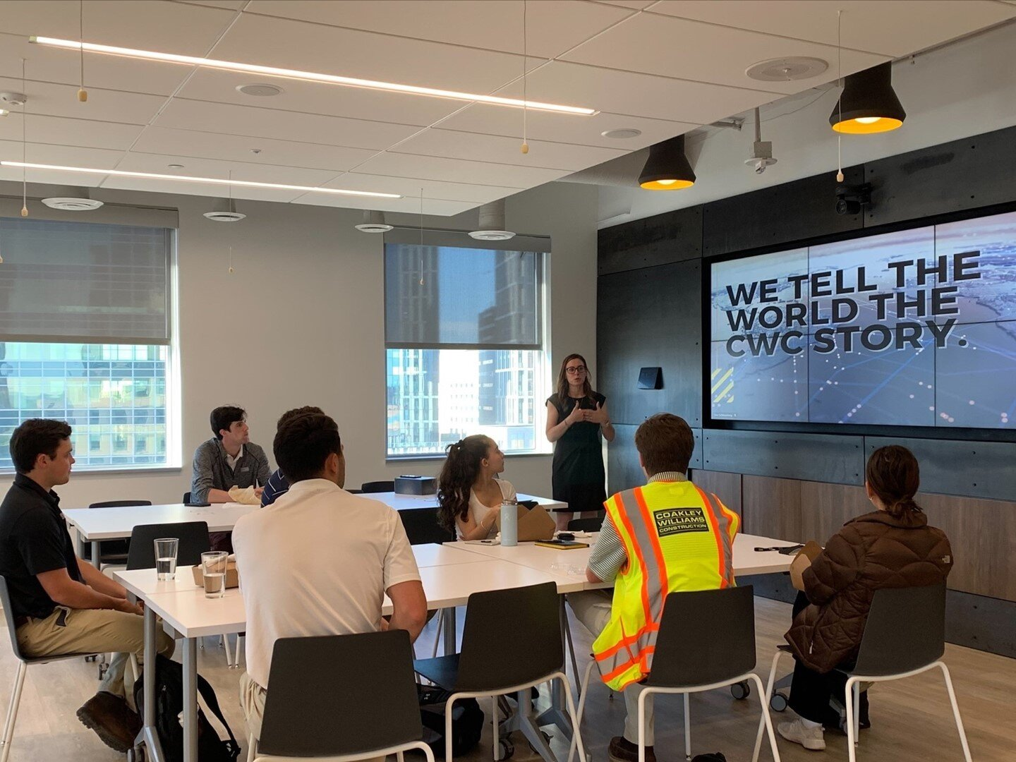 The CWC marketing team has an important role. We tell the world the CWC story.⠀ ⠀ Our Director of Marketing, Lisa Schlossberg, spoke to our #Summer2021Interns about the ins and outs of our internal and external marketing programs and how we use our website, social media, Spotify and video production to tell our story. #BuildingPeople #BuildWithUs