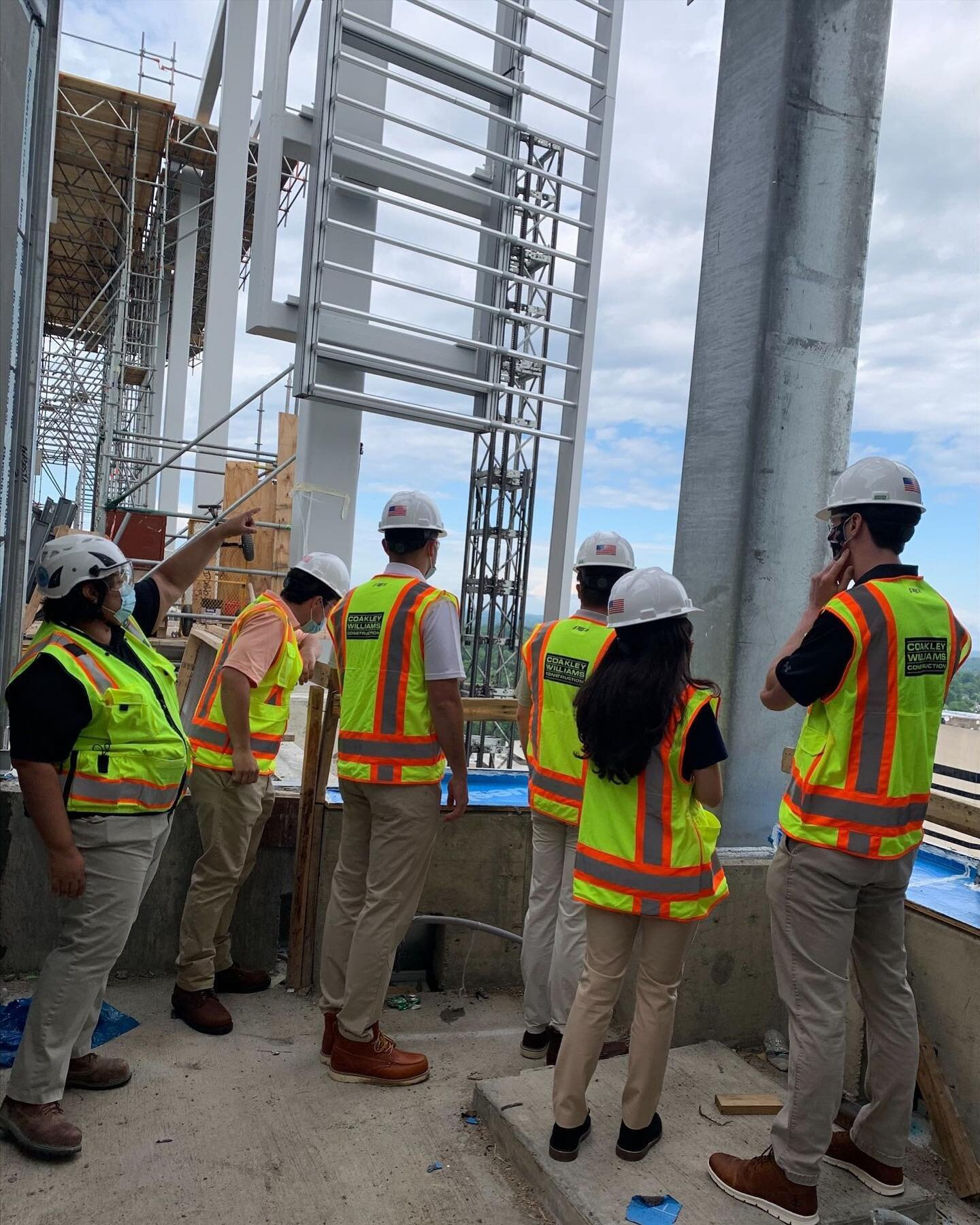 This is how we build the future. #SummerInterns2021 #Construction