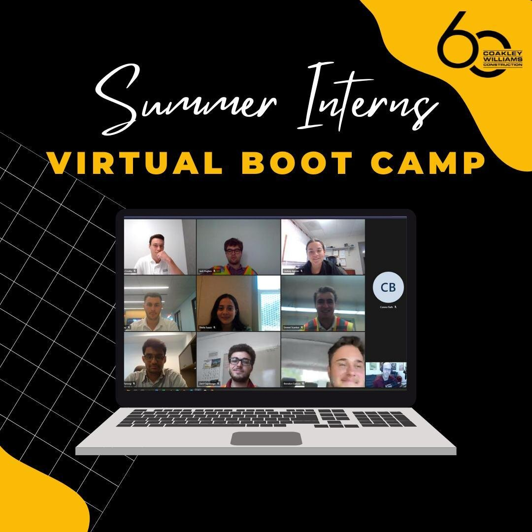 Our interns finished their first CWC virtual boot camp focused on effective communication strategies for interacting with the diverse players in construction. Keep up the good work, interns! #BuildingtheFuture #BuildSomething