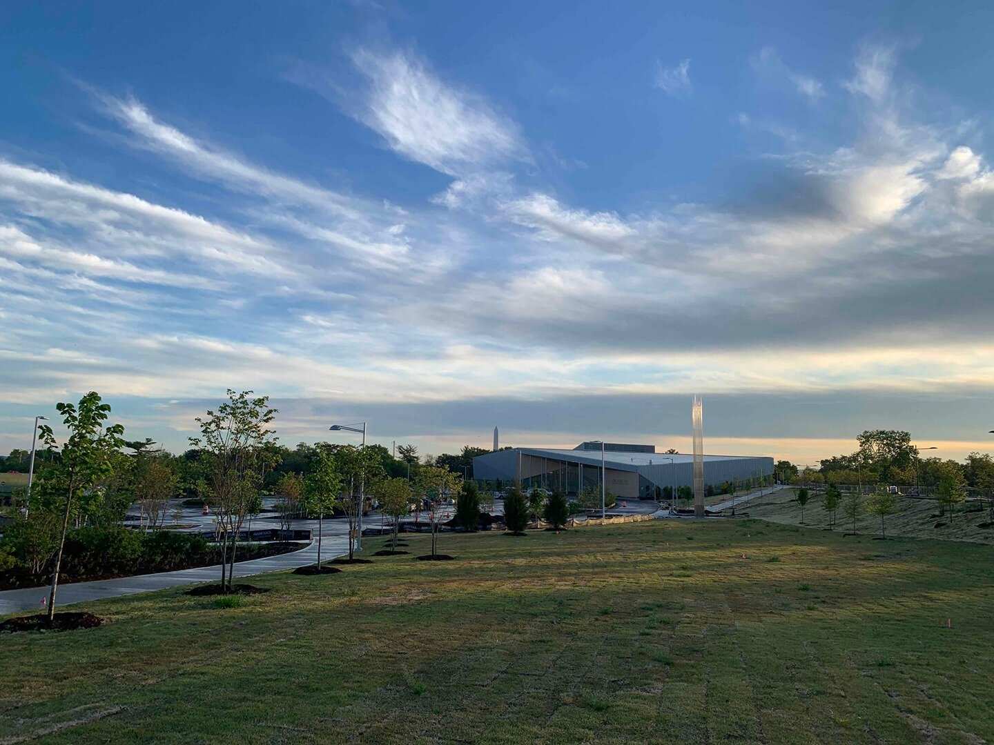 It's a beautiful day in Arlington County at the Long Bridge Park Aquatics and Fitness Center construction site! #BuildSomething⠀ ⠀ 📸  Alex Bruhn, Project Engineer | Want to learn more about this project? Visit: https://buff.ly/3bF5YlJ