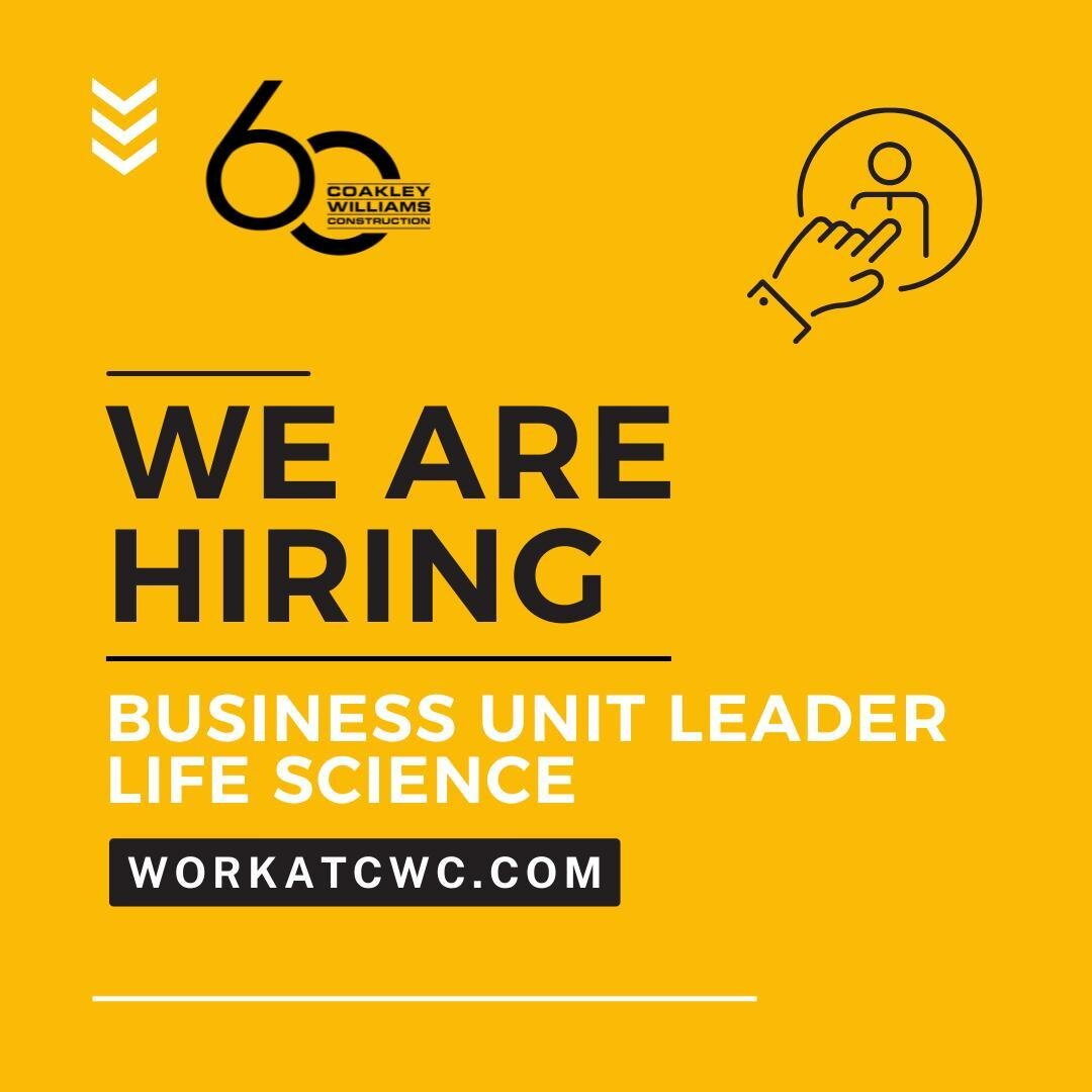 We build great teams, strong leaders, lasting relationships and award-winning projects. Build with us! Visit workatcwc.com and apply today. #Construction #BethesdaMD