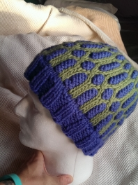 Bulky Stained Glass Hat