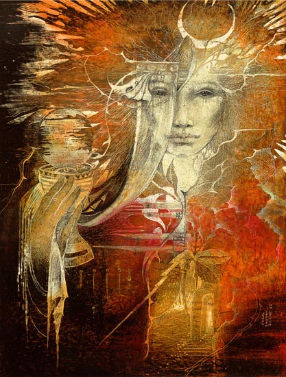 Painting by Epic Artist: Susan Boulet