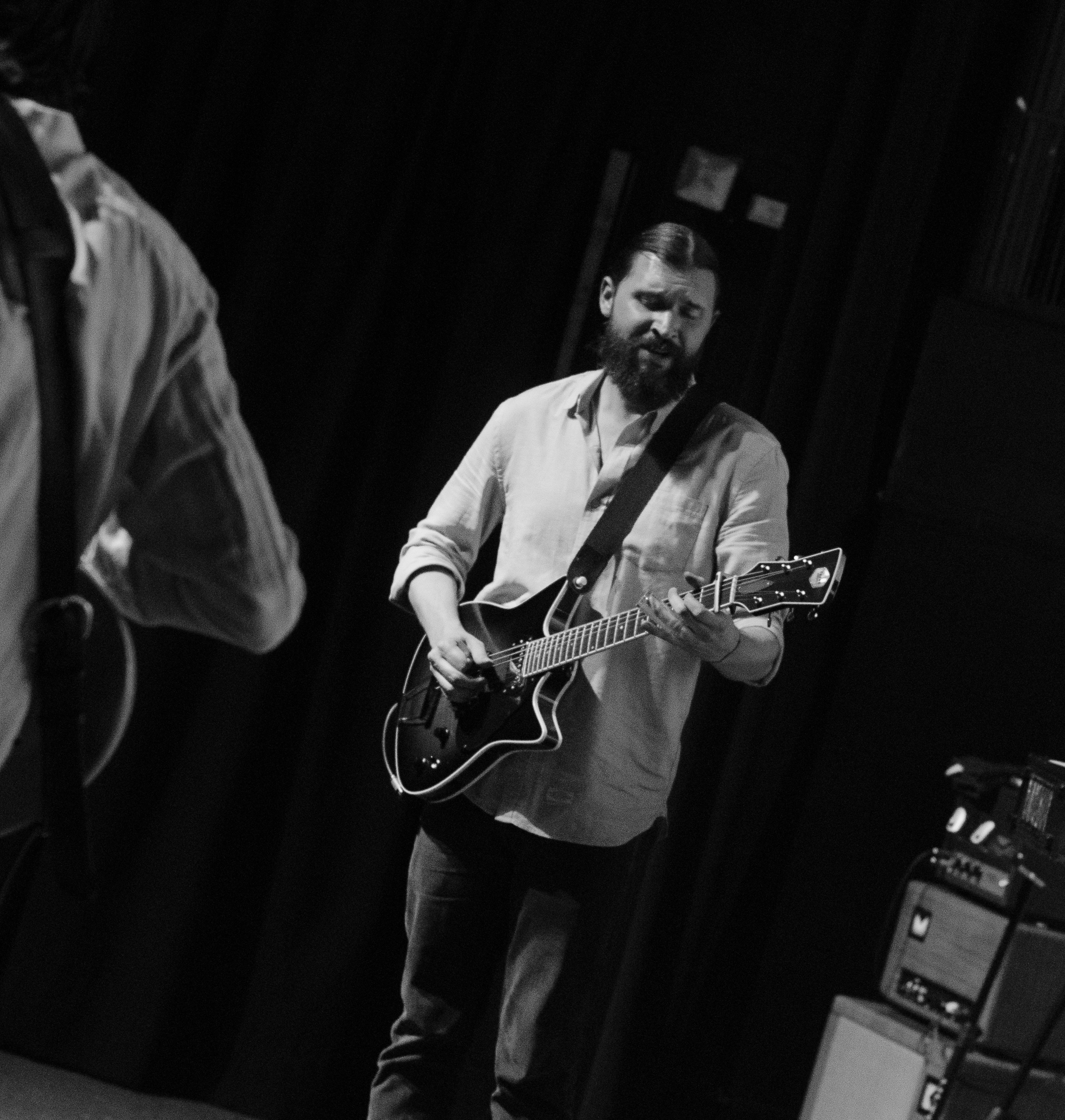 Trevor Menear on Tour with Dawes the Band with his Frank Brothers Signature Model Custom Electric Guitar