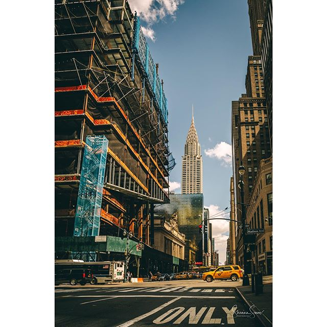 A little New York dreaming this morning. Excited to be back for a few weeks next month! #concretejungle