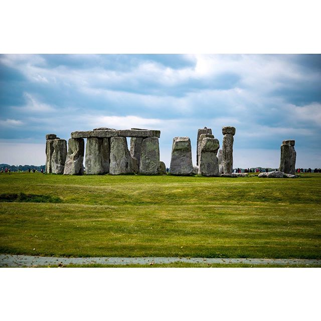 Someone left these here. It must have been heavy. #stonehenge