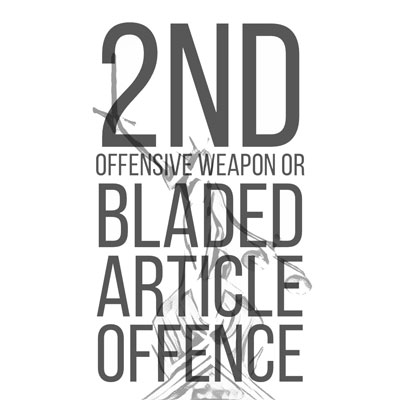 2nd offensive weapon offence